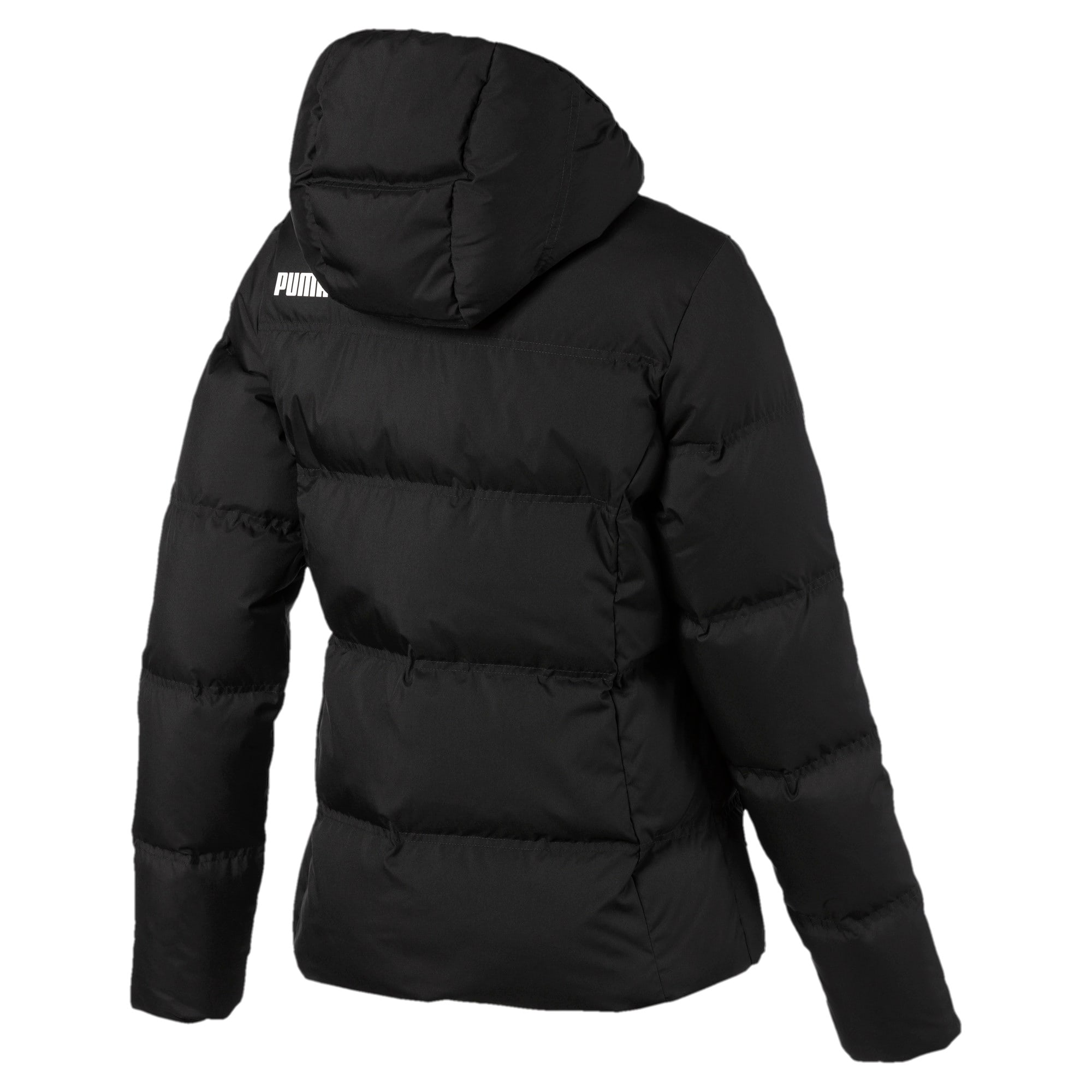 Thumbnail 5 of Essentials 400 Damen Daunenjacke mit Kapuze, Puma Black, medium