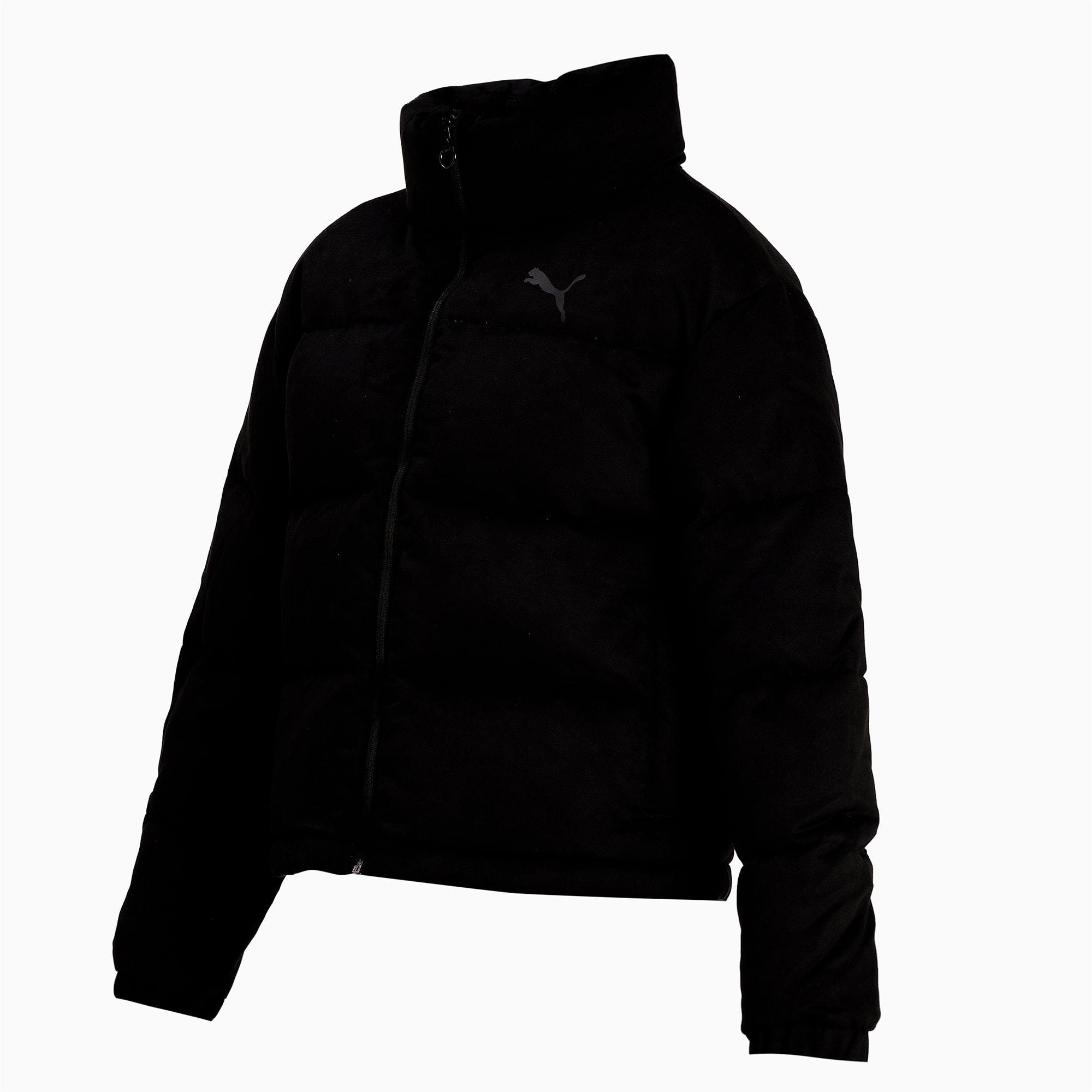 Thumbnail 4 of 480 Style Down Women's Jacket, Puma Black, medium-IND