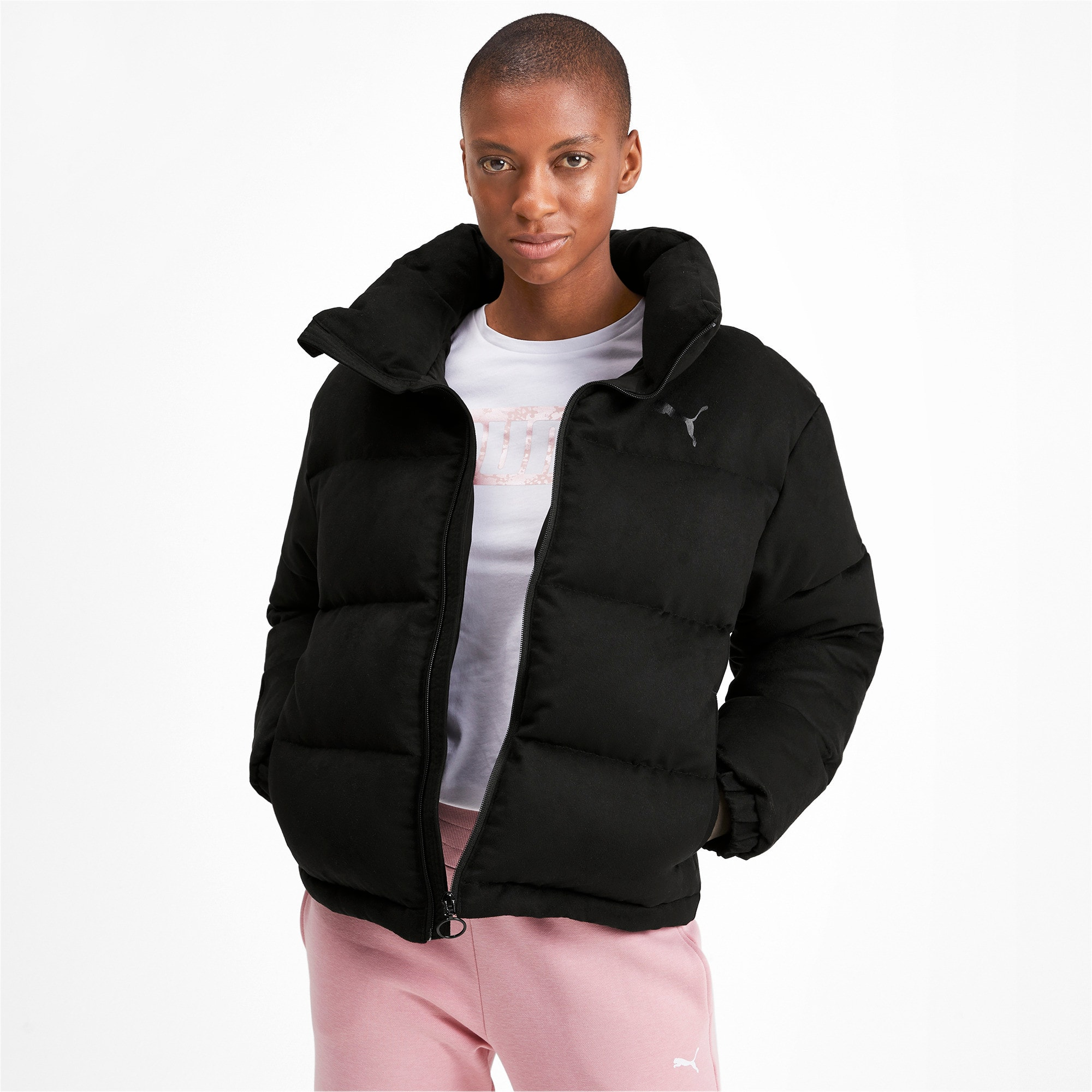 Thumbnail 1 of 480 Style Down Women's Jacket, Puma Black, medium-IND