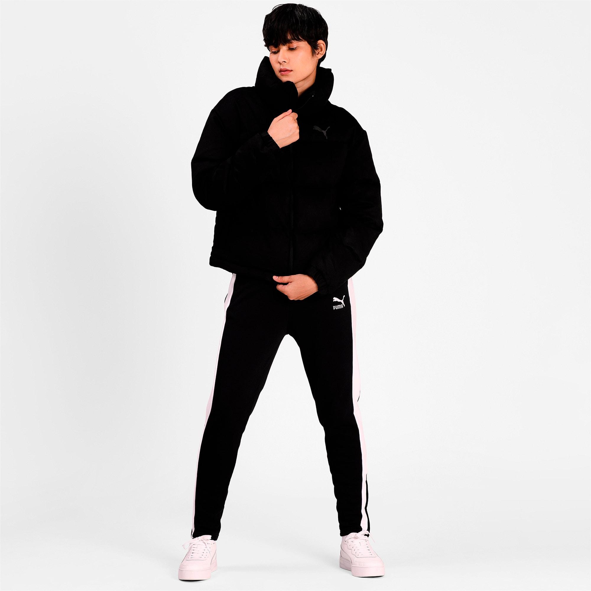 Thumbnail 3 of 480 Style Down Women's Jacket, Puma Black, medium-IND