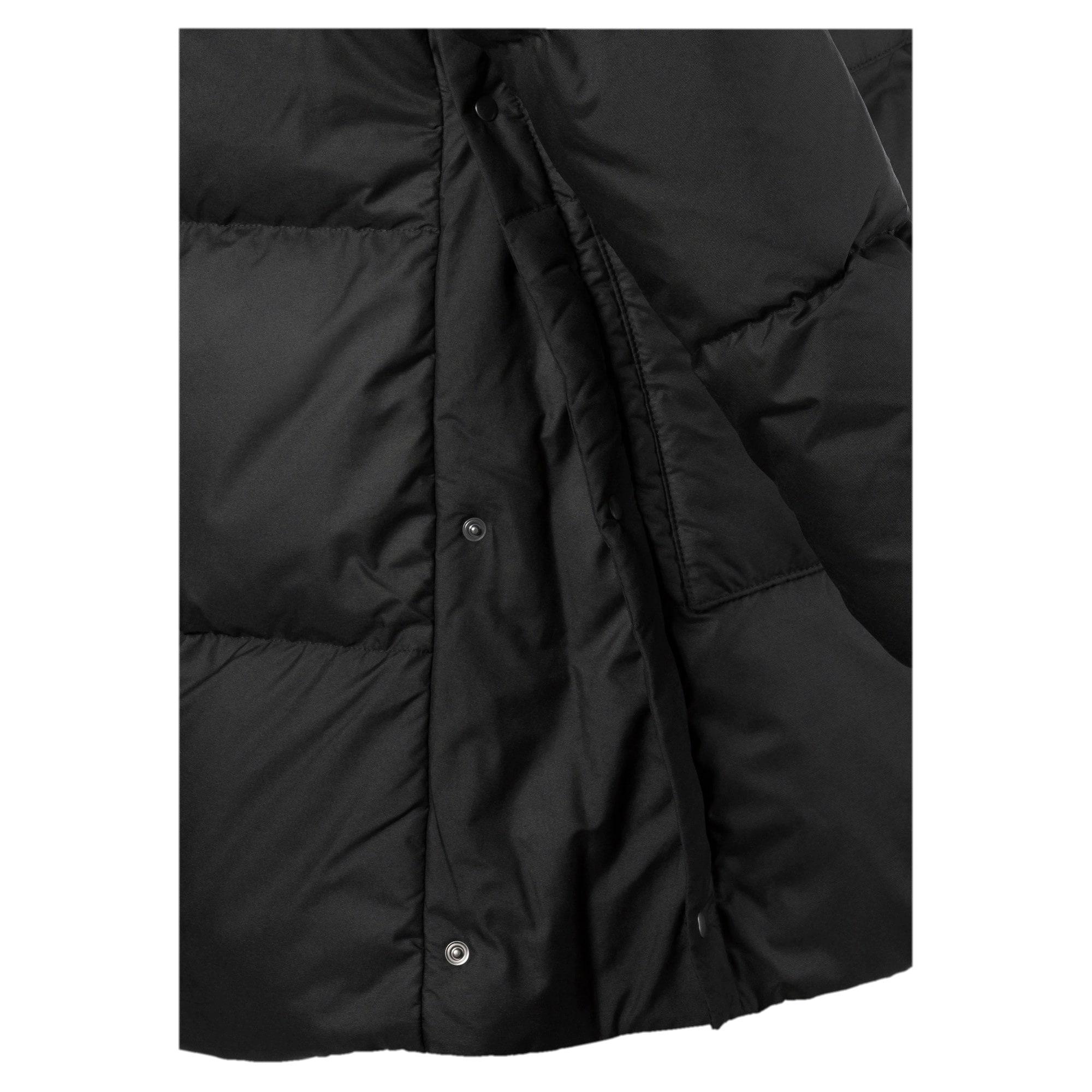 Thumbnail 6 of 450 Long Hooded Down Women's Coat, Puma Black, medium