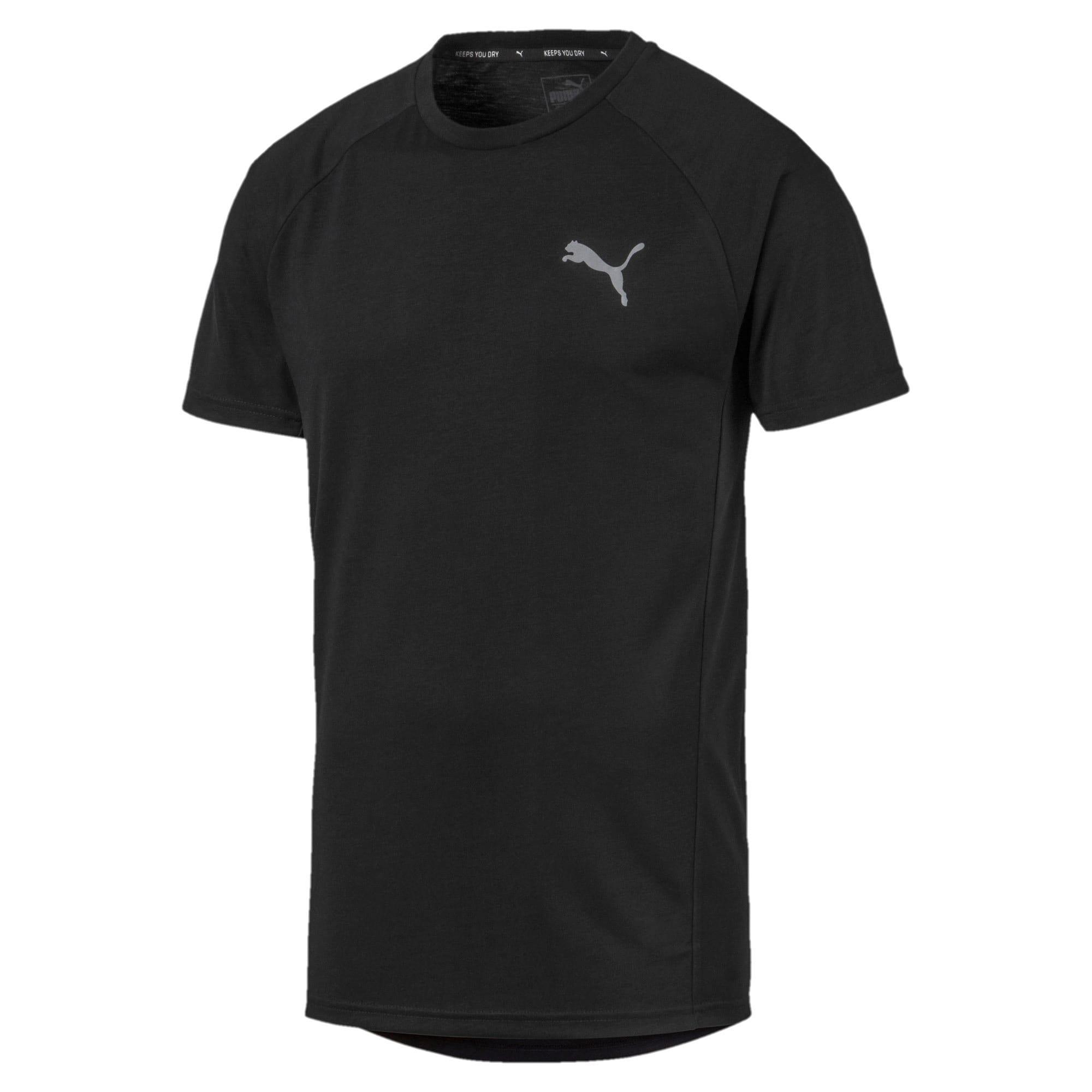 Thumbnail 4 of Meska koszulka z krótkim rekawem Evostripe, Puma Black, medium