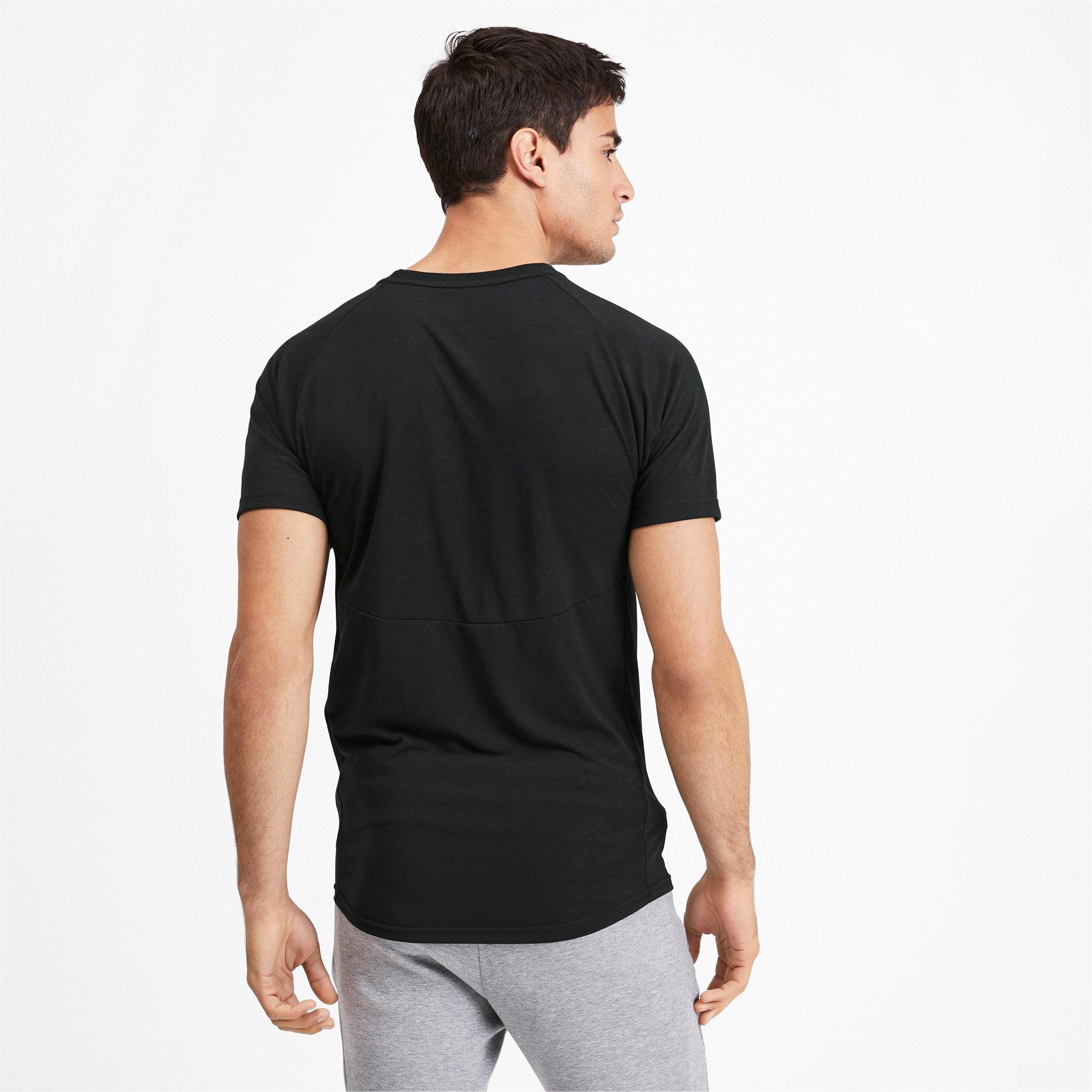 Thumbnail 2 of Meska koszulka z krótkim rekawem Evostripe, Puma Black, medium