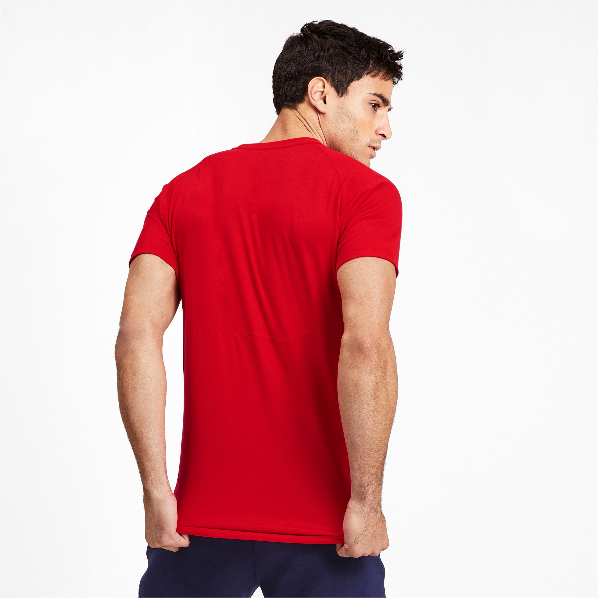 Thumbnail 2 of Meska koszulka z krótkim rekawem Evostripe, High Risk Red, medium