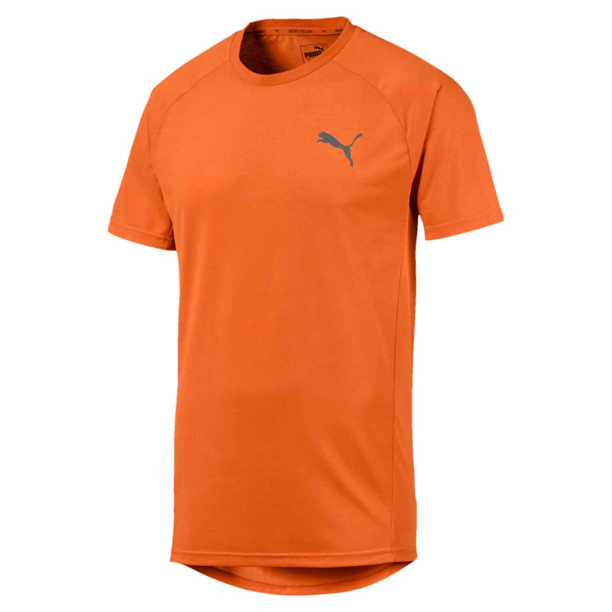 Thumbnail 4 of Meska koszulka z krótkim rekawem Evostripe, Jaffa Orange, medium