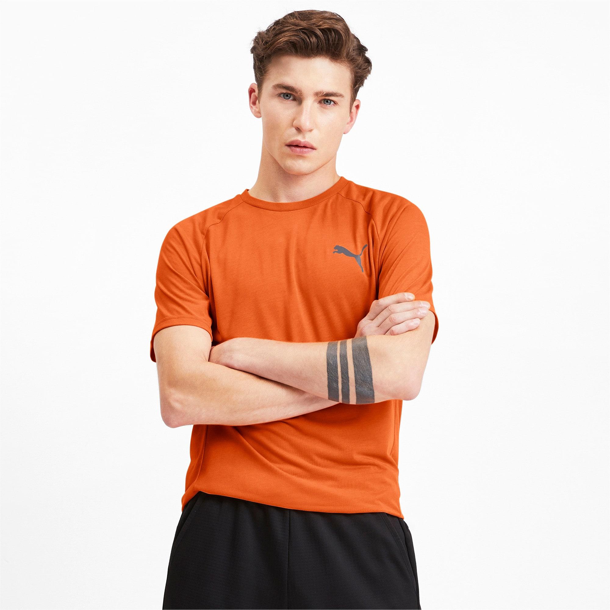 Thumbnail 1 of Meska koszulka z krótkim rekawem Evostripe, Jaffa Orange, medium