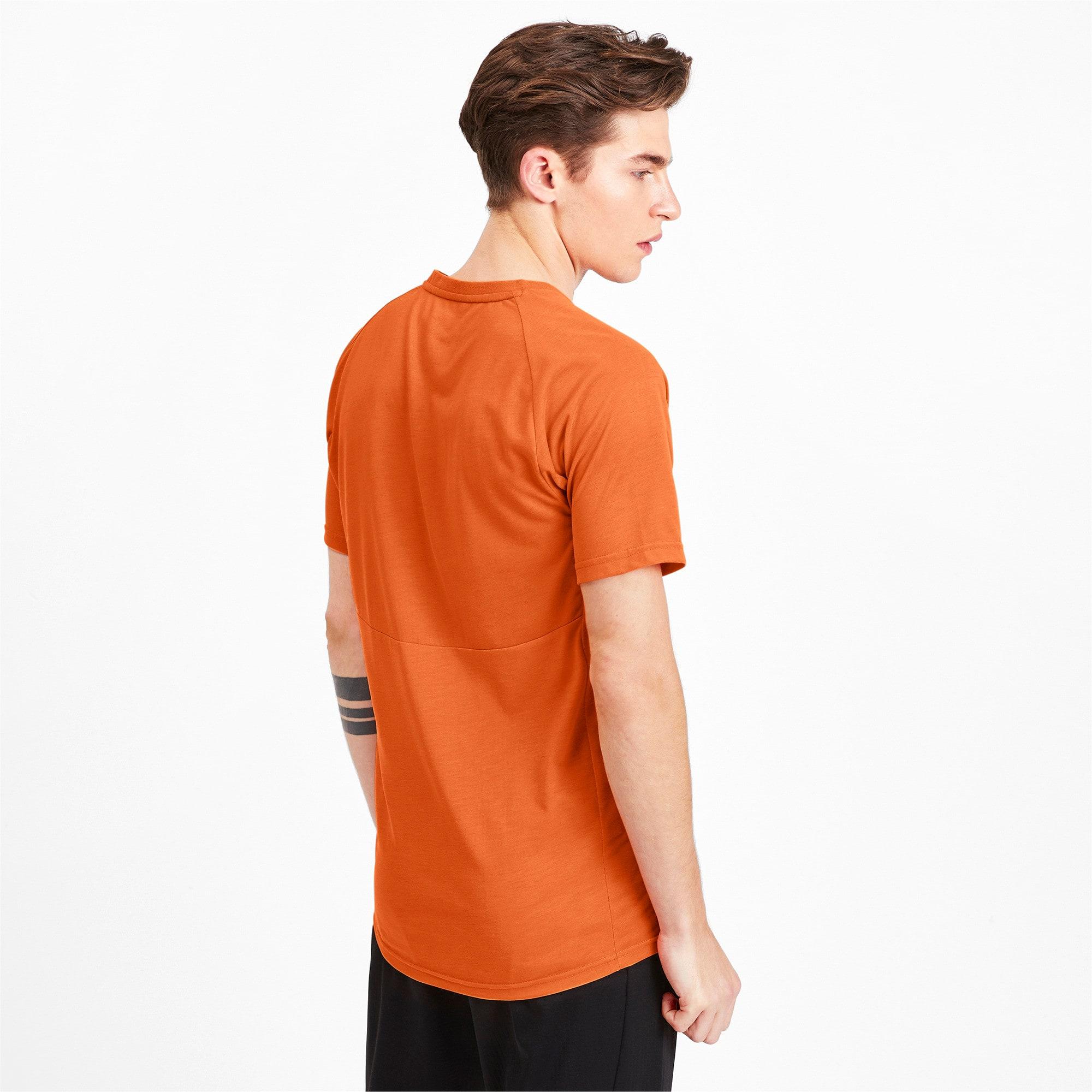 Thumbnail 2 of Meska koszulka z krótkim rekawem Evostripe, Jaffa Orange, medium
