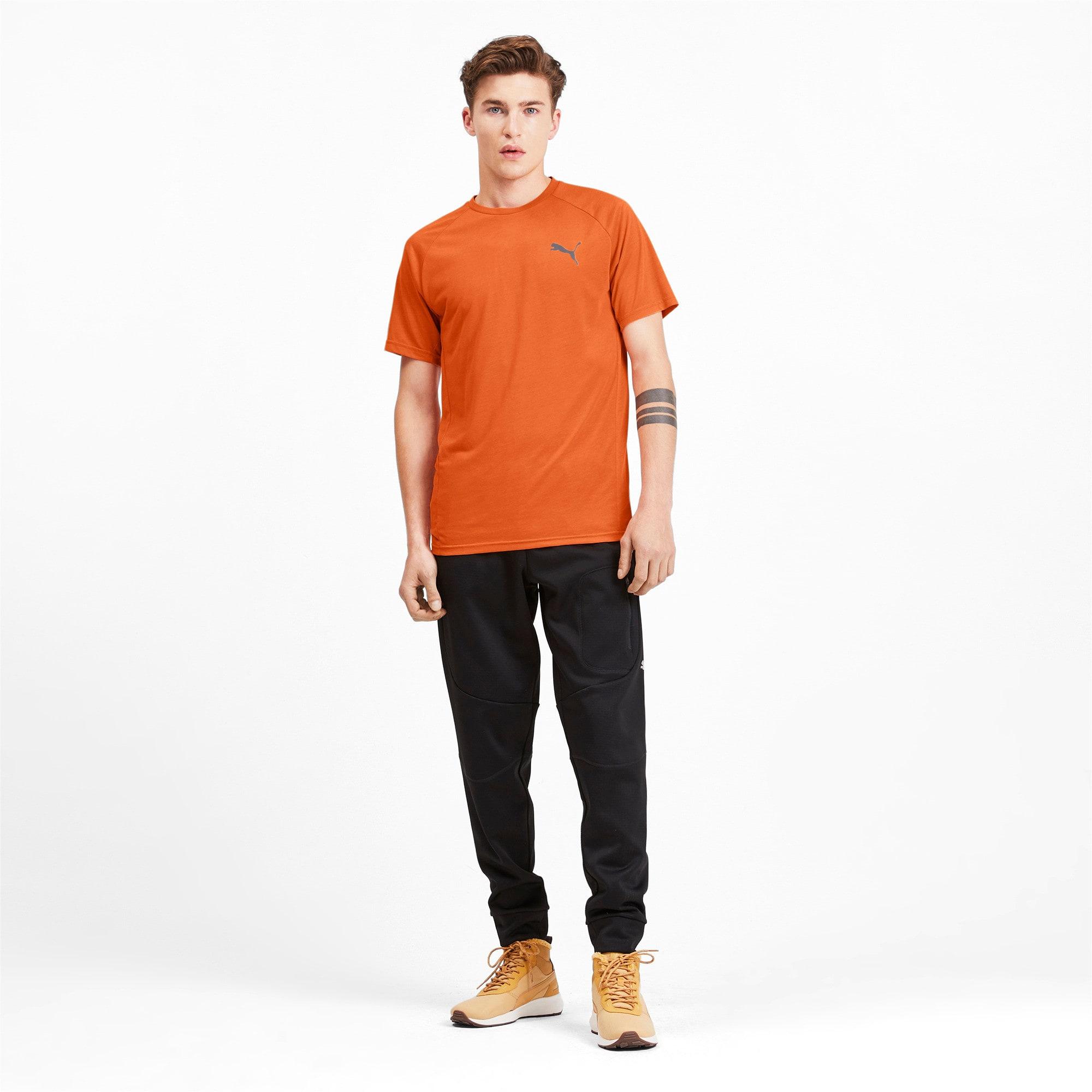Thumbnail 3 of Meska koszulka z krótkim rekawem Evostripe, Jaffa Orange, medium