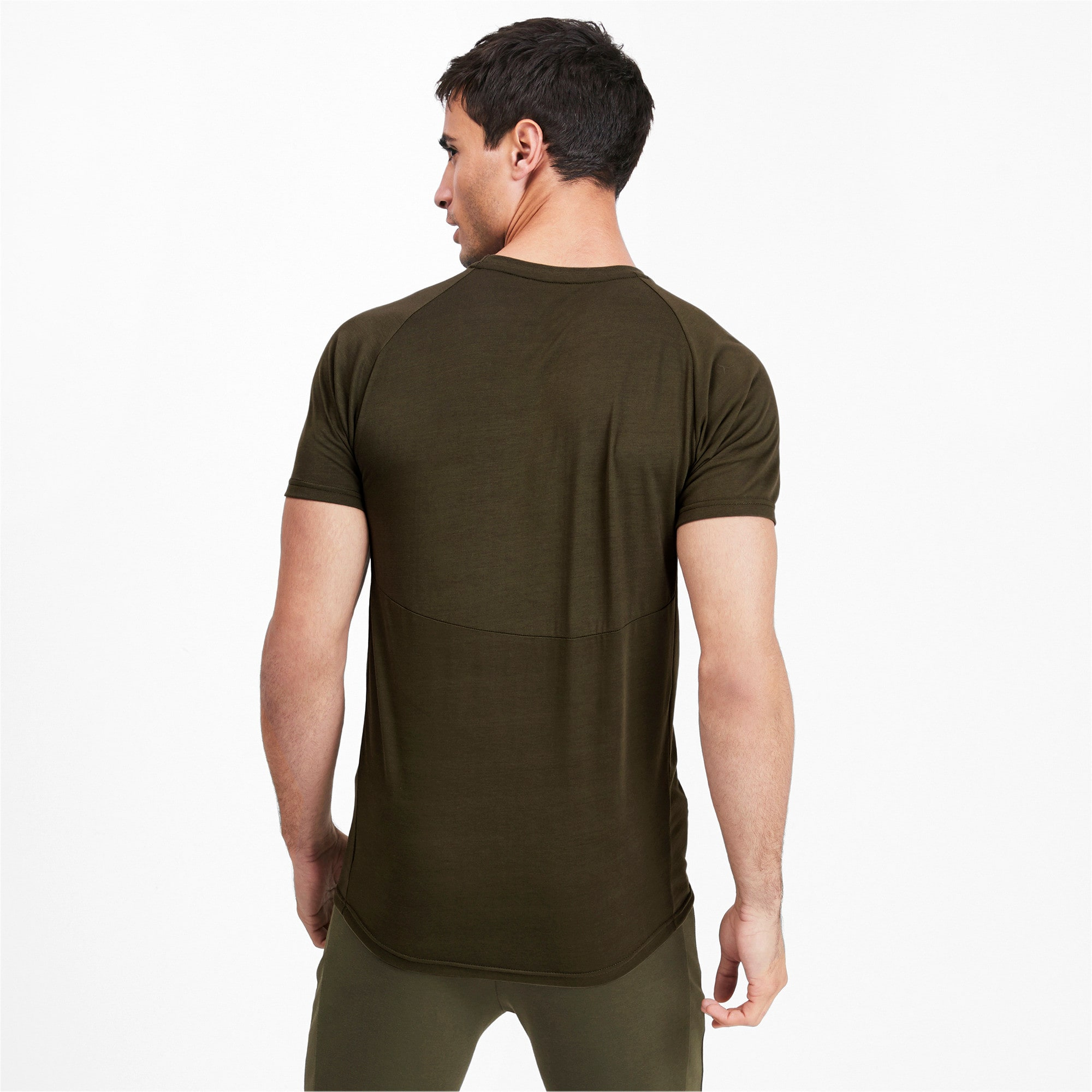 Thumbnail 2 of Evostripe Short Sleeve Men's Tee, Forest Night, medium-IND