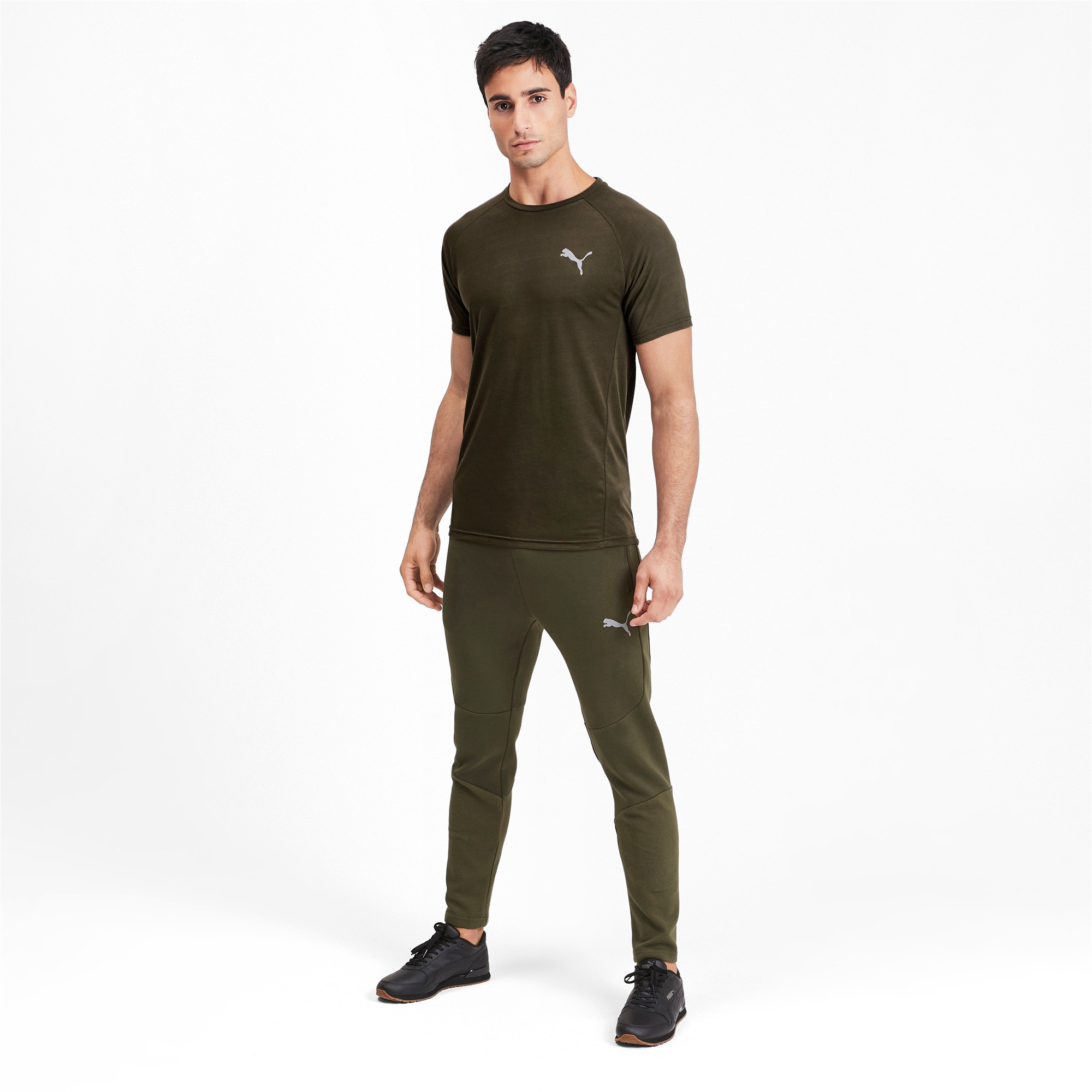 Thumbnail 3 of Evostripe Short Sleeve Men's Tee, Forest Night, medium-IND