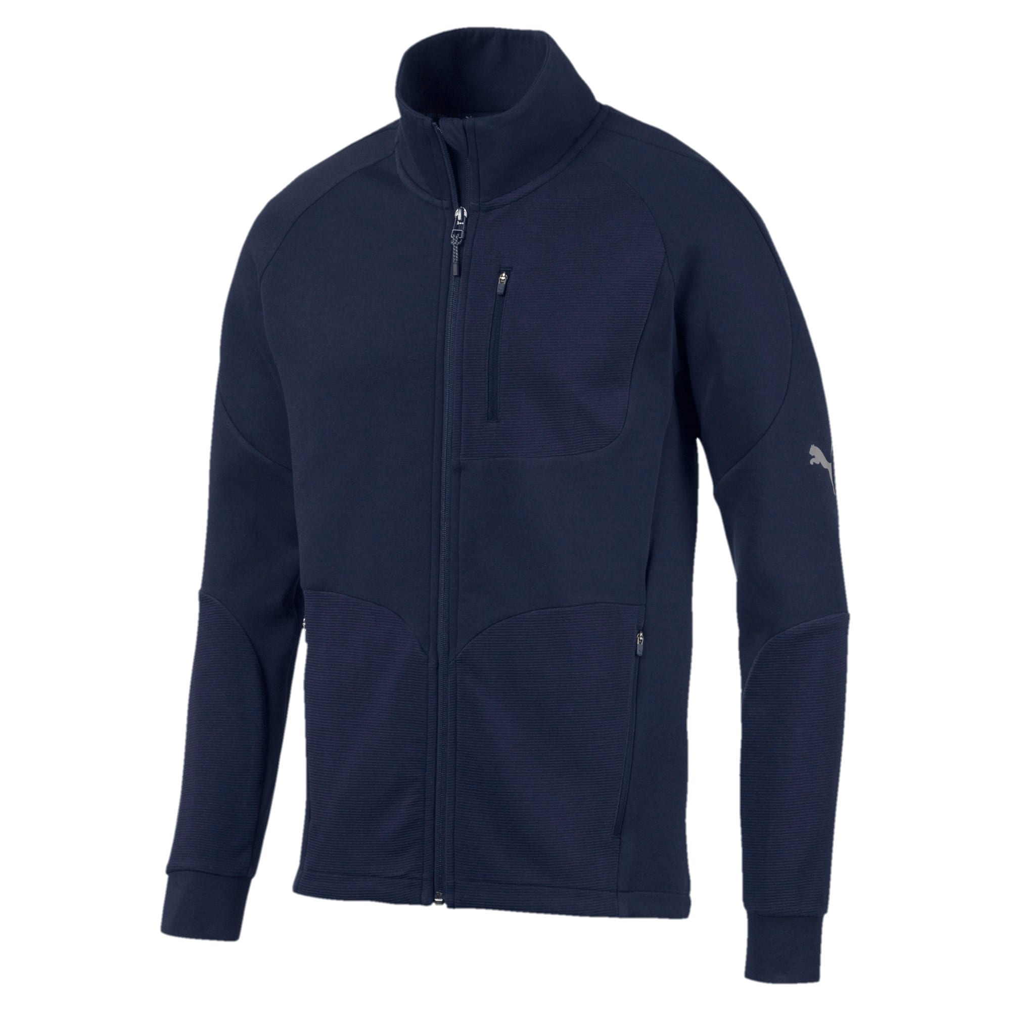 Thumbnail 4 of Evostripe Long Sleeve Men's Jacket, Peacoat, medium