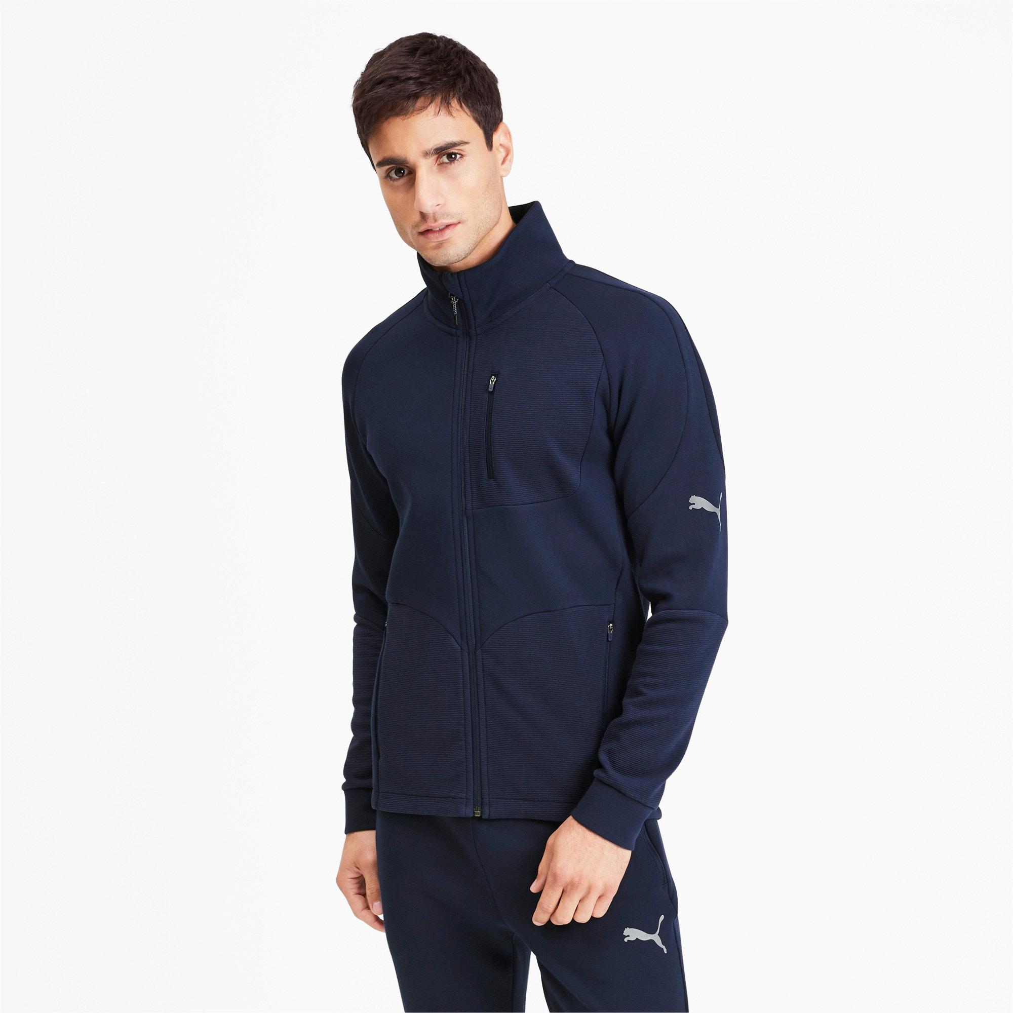 Thumbnail 1 of Evostripe Long Sleeve Men's Jacket, Peacoat, medium