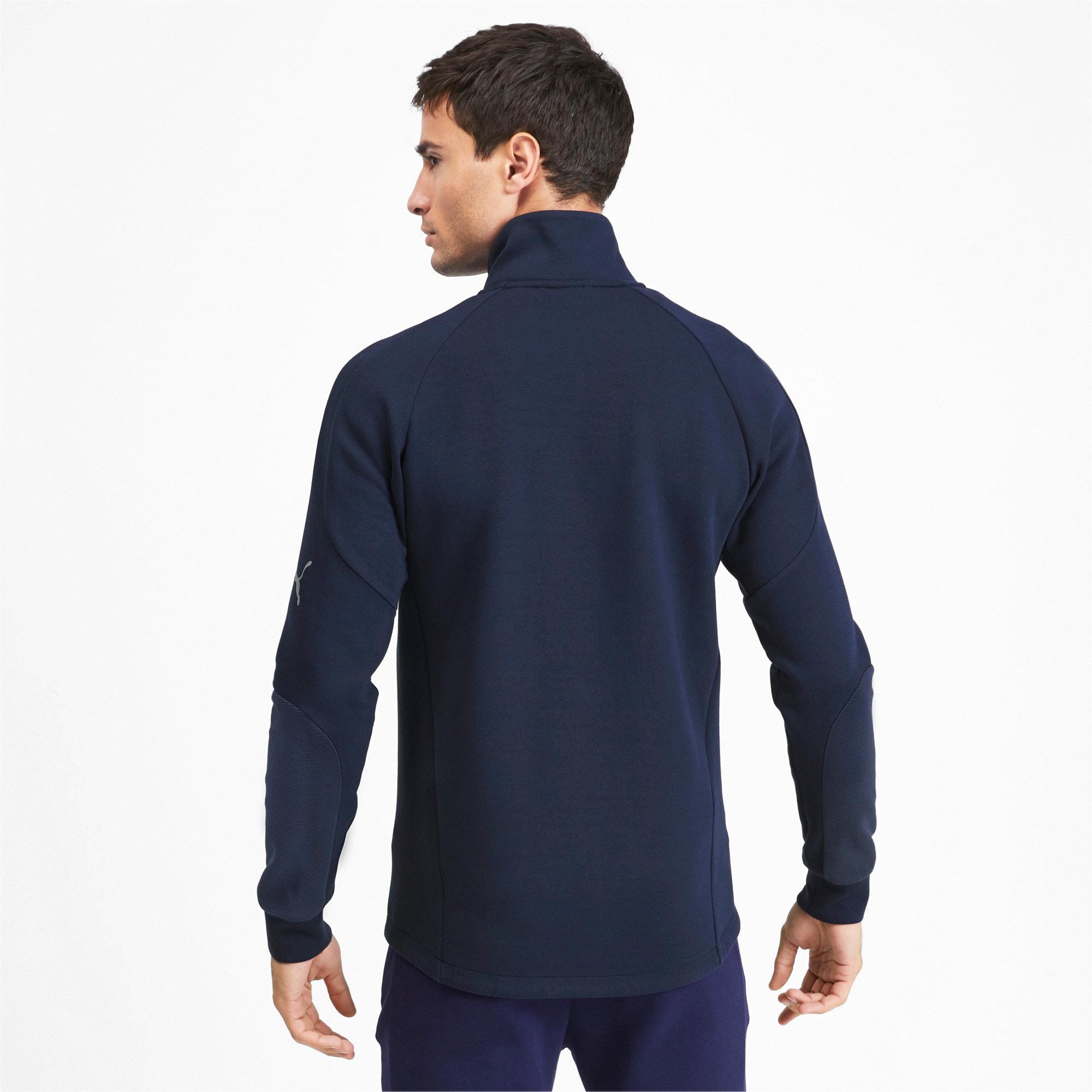 Thumbnail 2 of Evostripe Long Sleeve Men's Jacket, Peacoat, medium