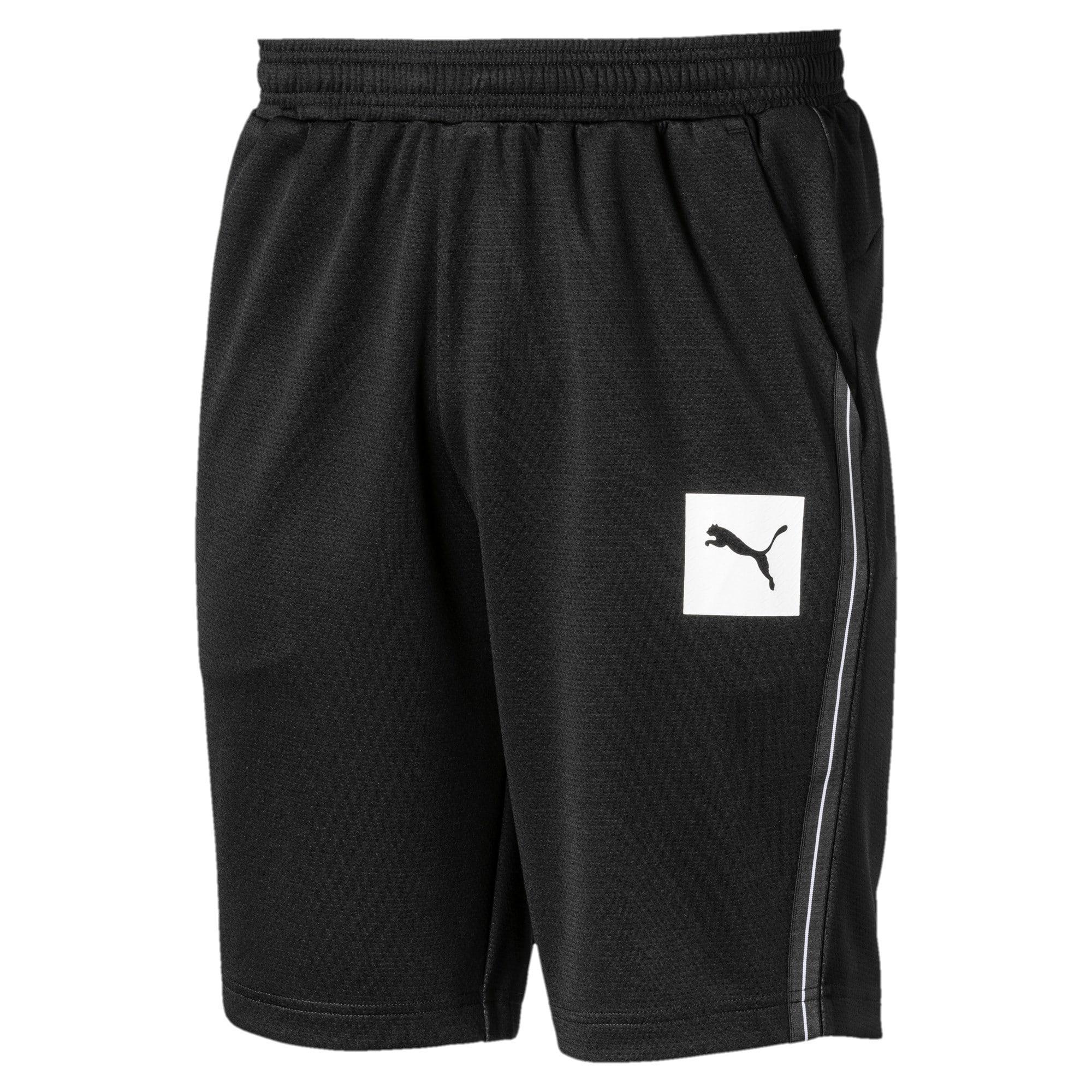 Thumbnail 4 of Tec Sports Interlock Men's Shorts, Puma Black, medium-IND