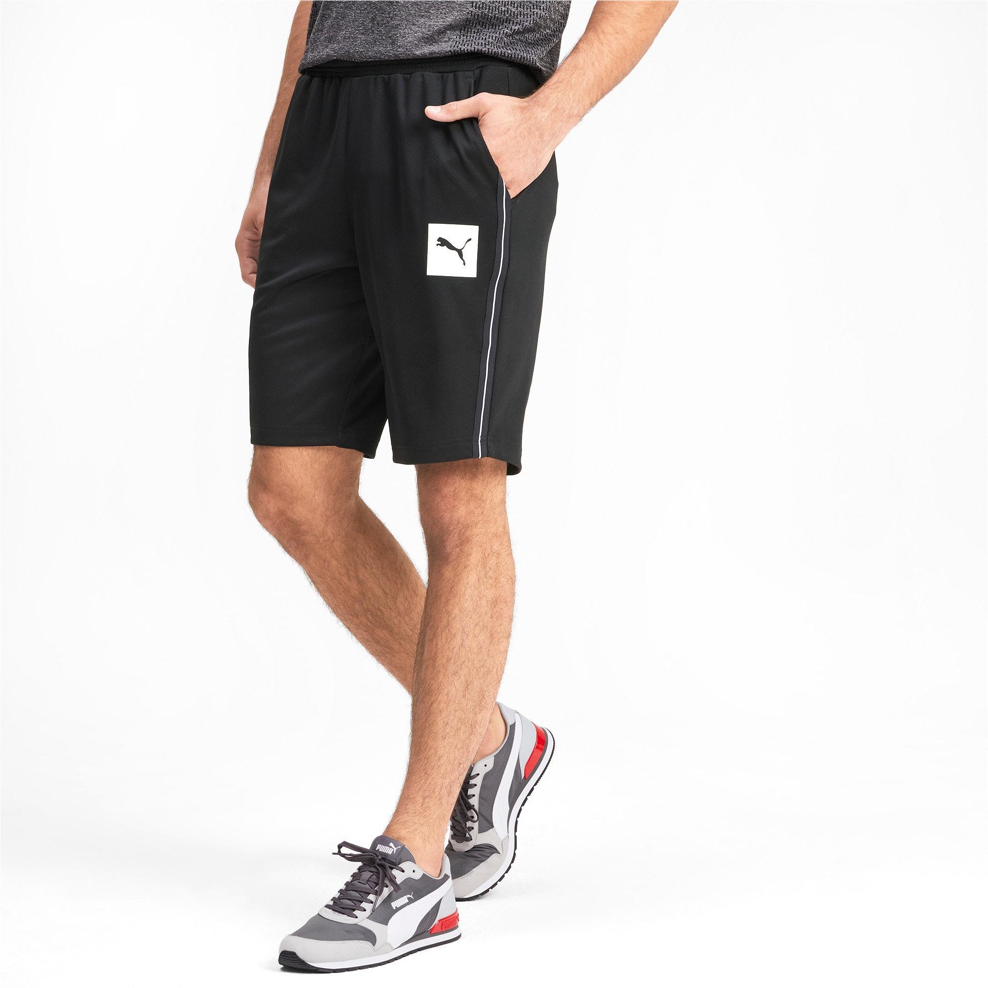 Thumbnail 1 of Tec Sports Interlock Men's Shorts, Puma Black, medium-IND