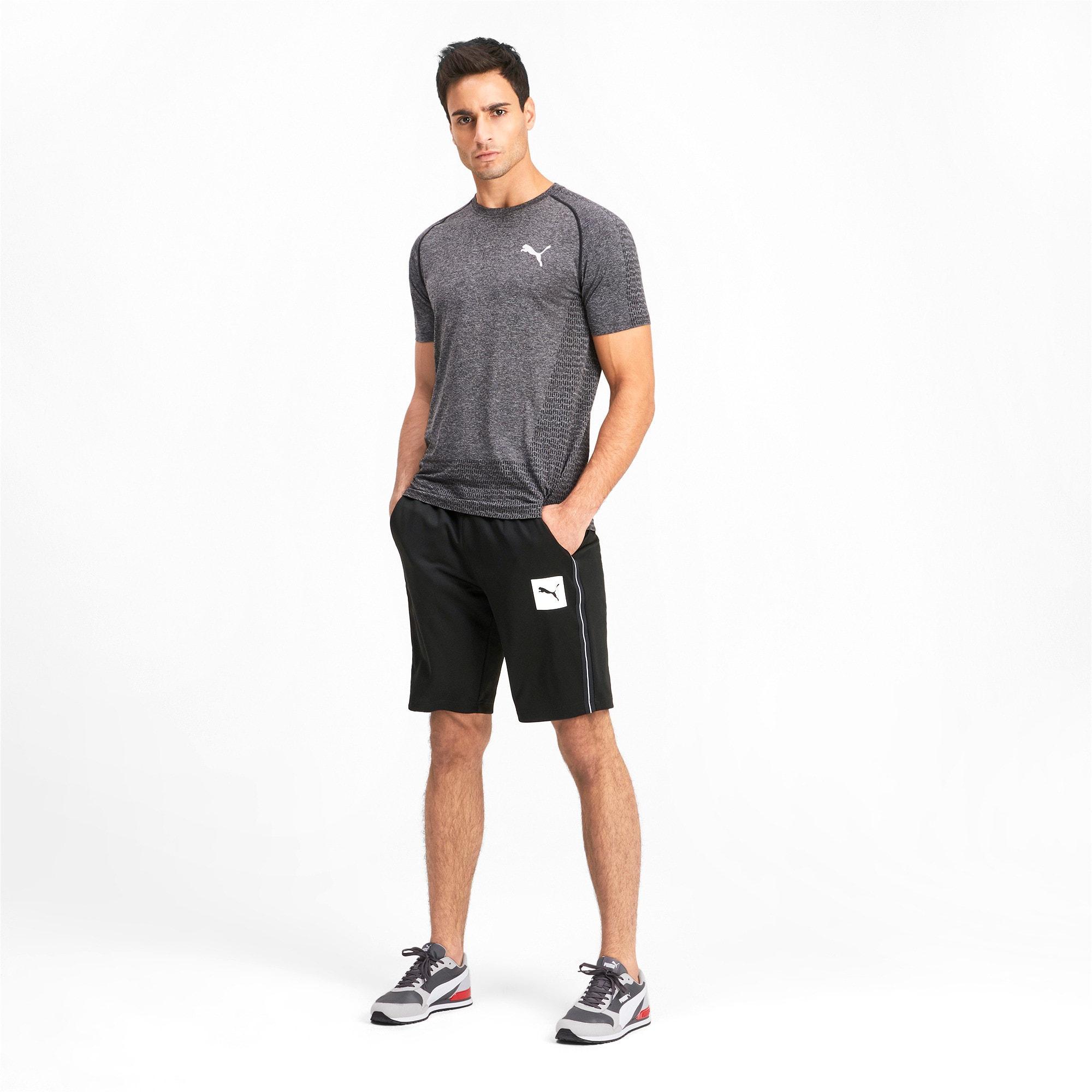 Thumbnail 3 of Tec Sports Interlock Men's Shorts, Puma Black, medium-IND
