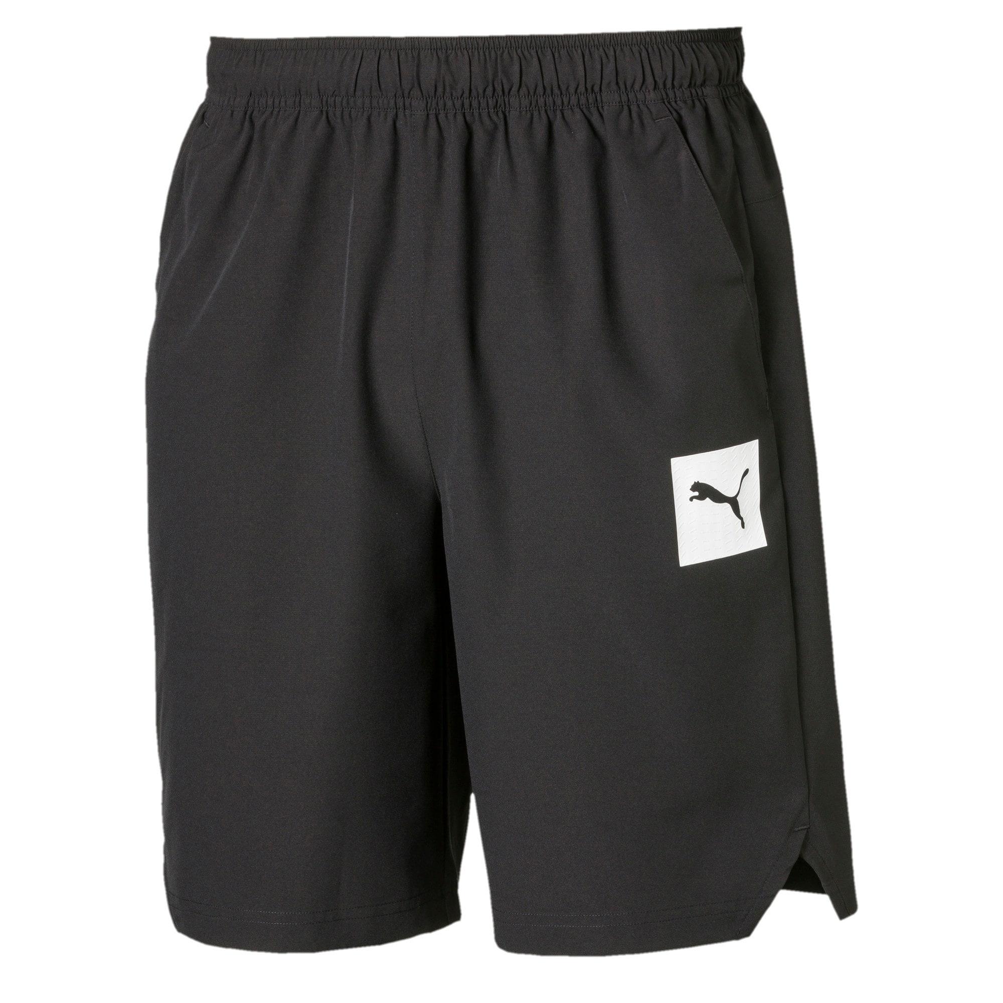 Thumbnail 4 of Tec Sports Men's Woven Shorts, Puma Black, medium-IND