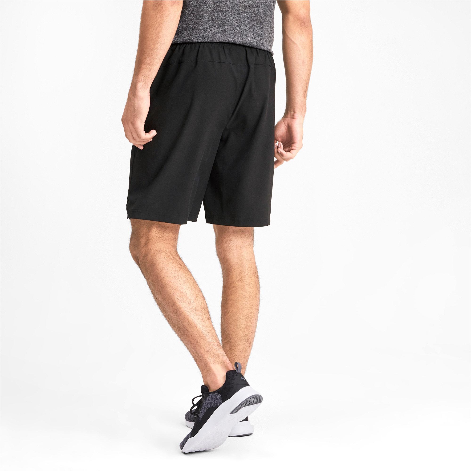 Thumbnail 2 of Tec Sports Men's Woven Shorts, Puma Black, medium-IND