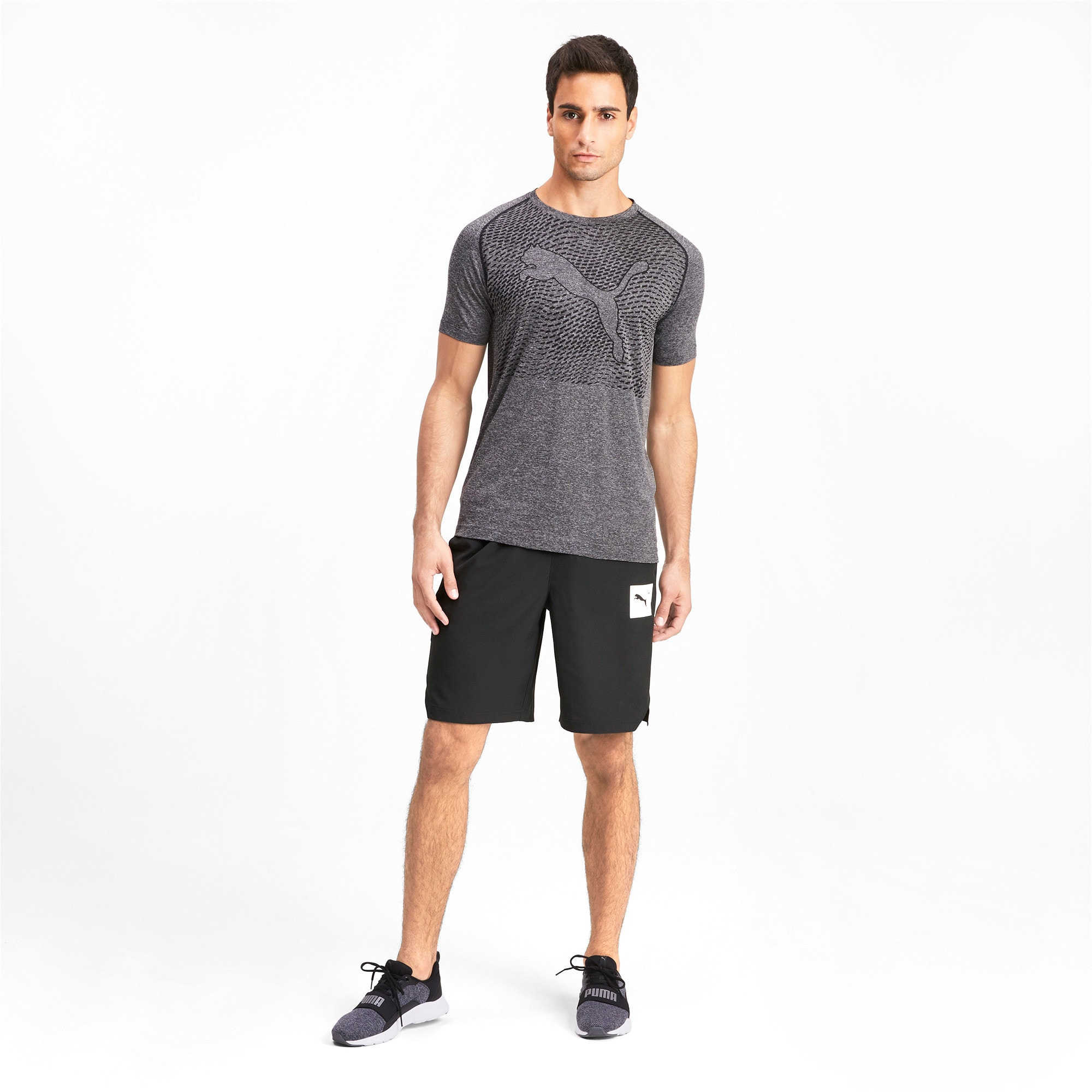 Thumbnail 3 of Tec Sports Men's Woven Shorts, Puma Black, medium-IND