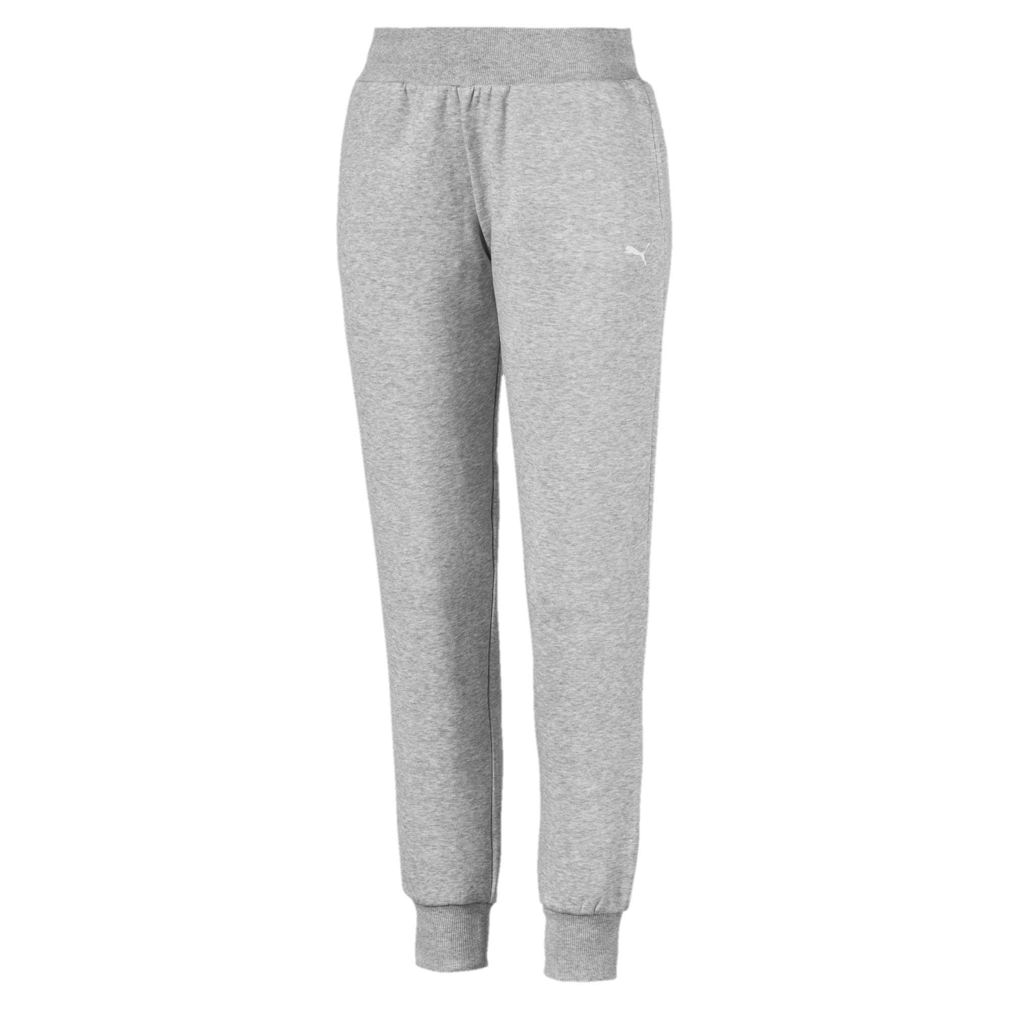 Thumbnail 1 of Knitted Women's Pants, Light Gray Heather, medium-IND
