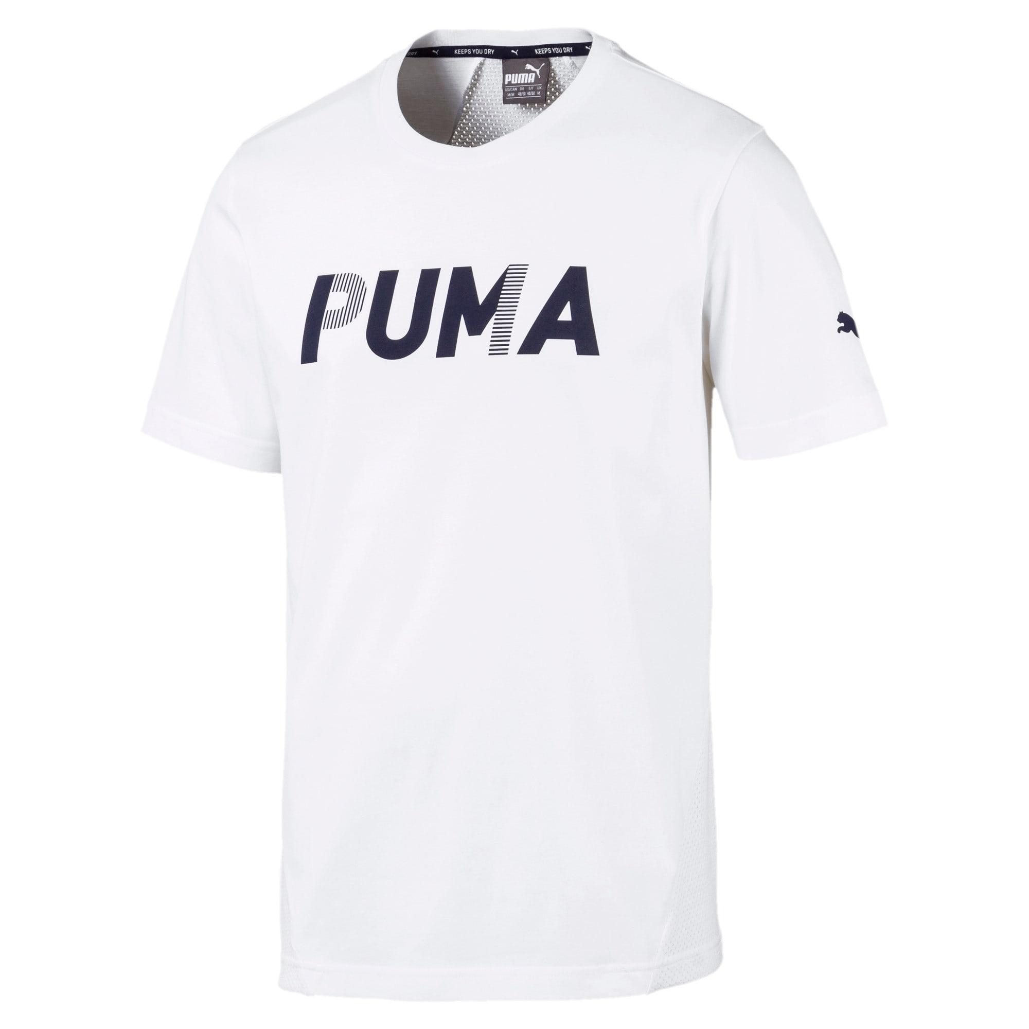 Thumbnail 4 of Modern Sports Advanced Men's Tee, Puma White, medium-IND