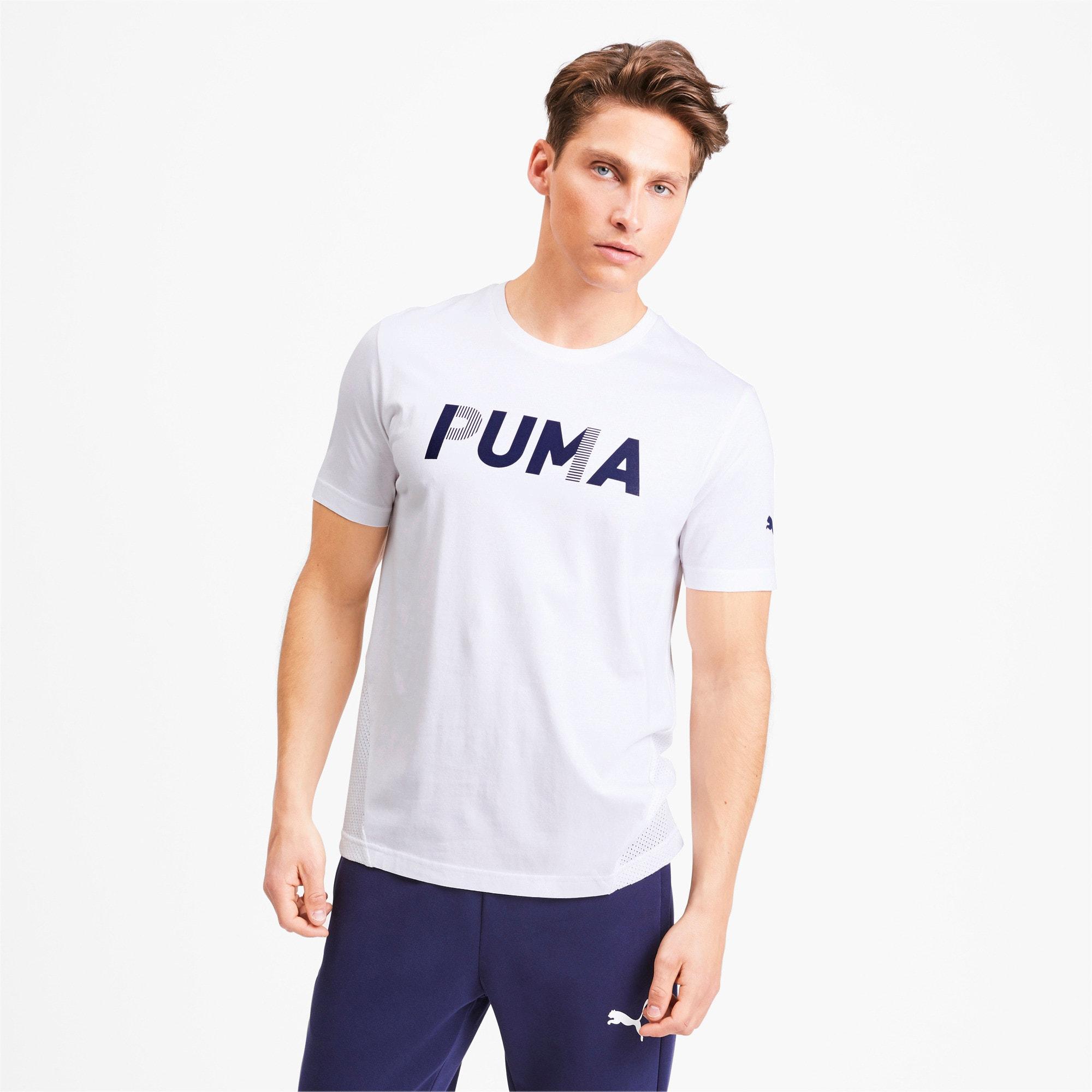 Thumbnail 1 of Modern Sports Advanced Men's Tee, Puma White, medium-IND
