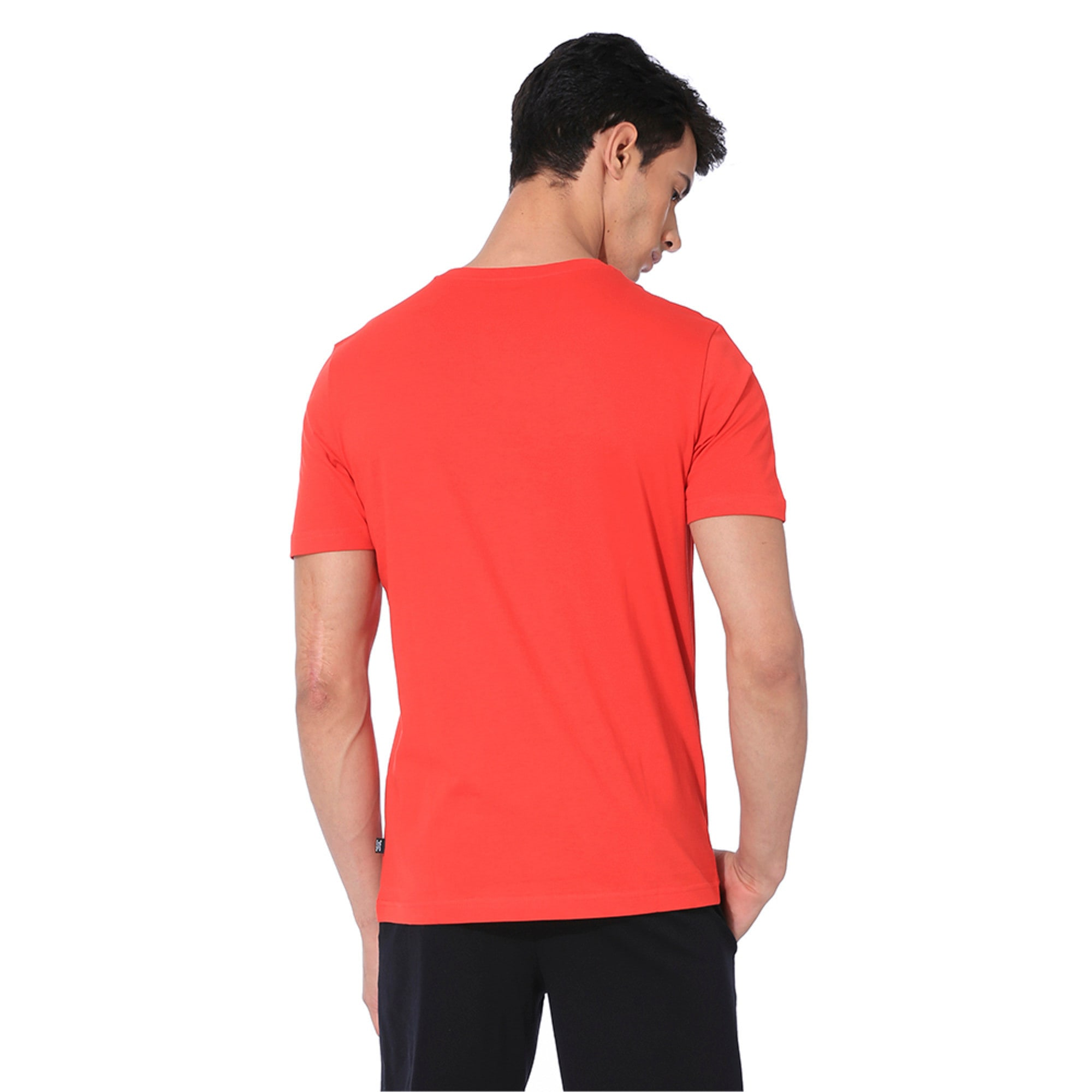 Thumbnail 2 of Graphic Short Sleeve Men's Tee, High Risk Red, medium-IND