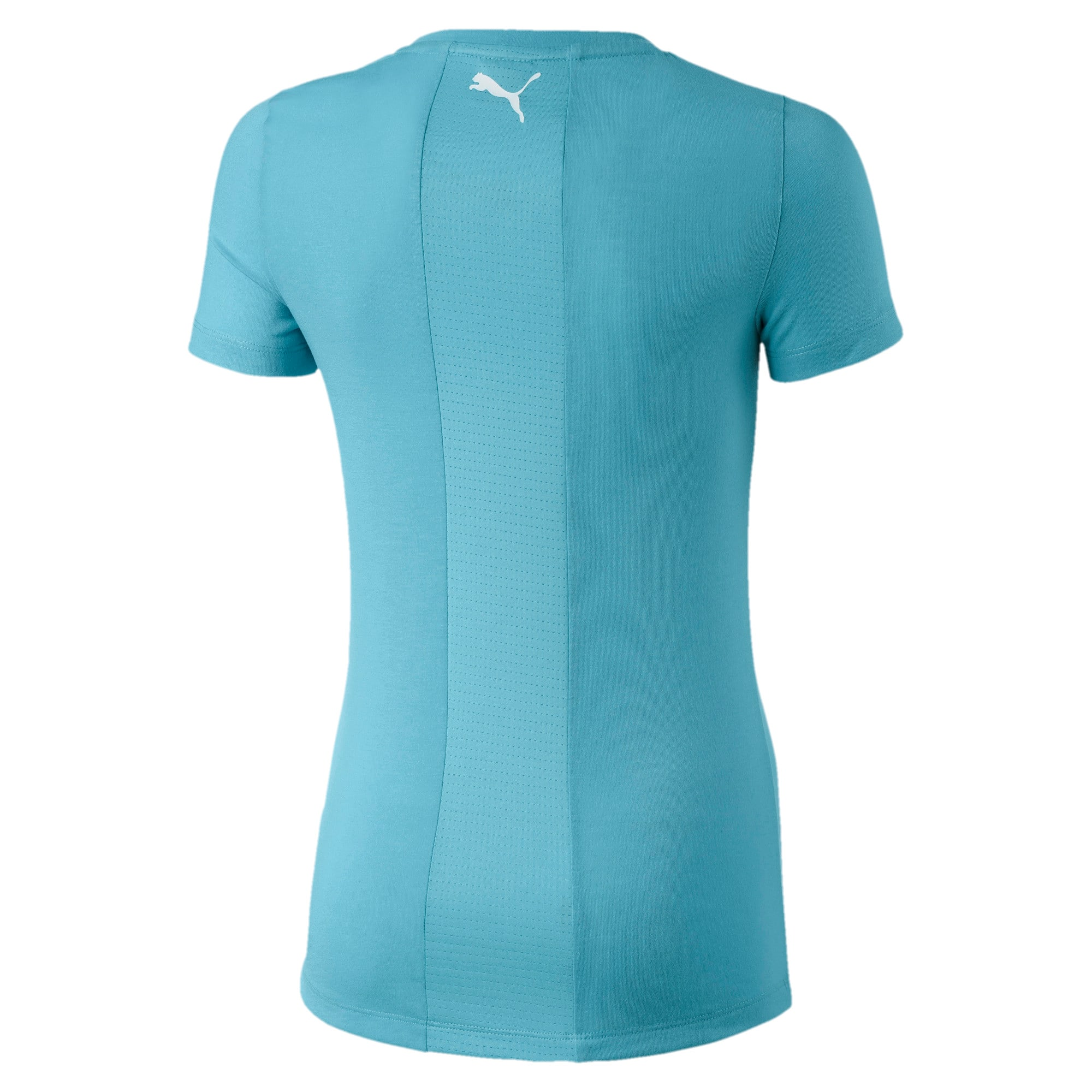 Thumbnail 2 of Active Sports dryCELL Girls' Tee, Milky Blue, medium-IND