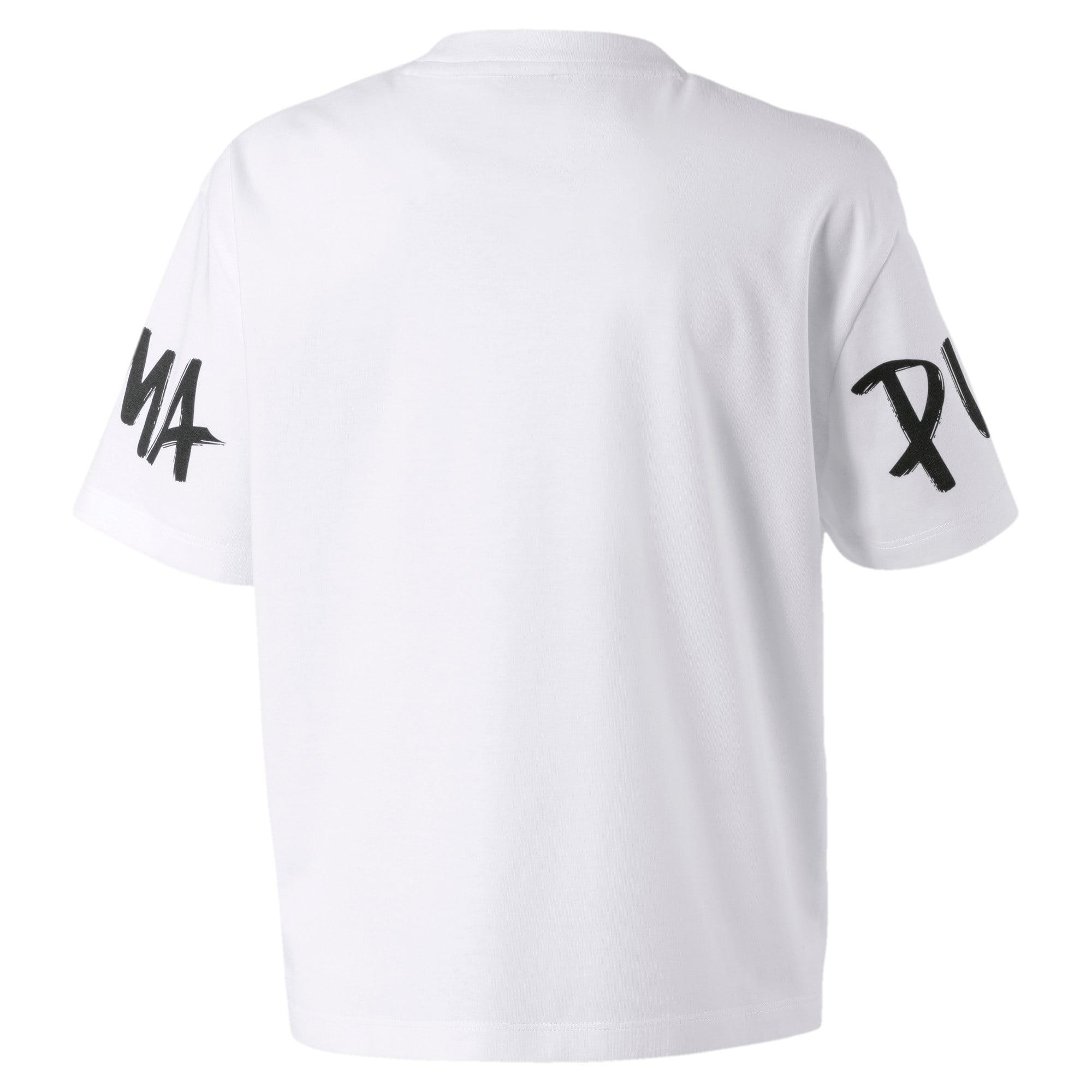 Thumbnail 2 van Alpha T-shirt voor meisjes, Puma White, medium