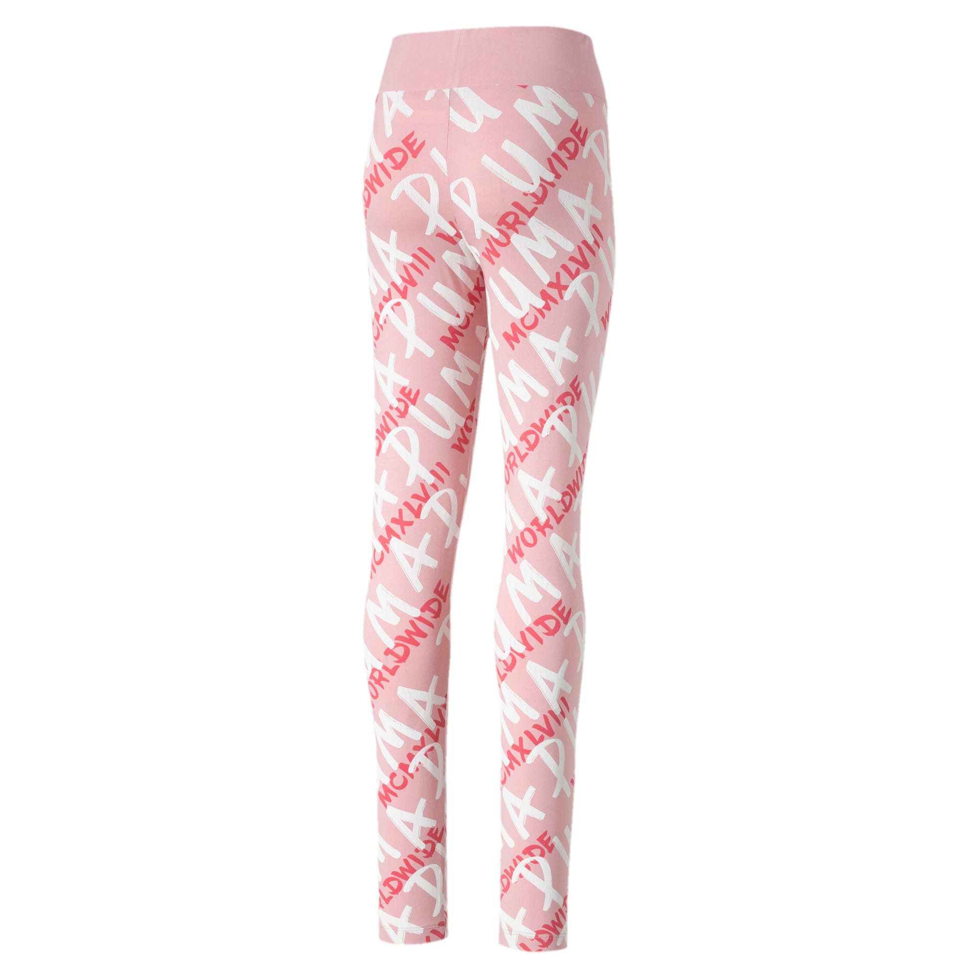 Thumbnail 2 of Alpha Girls' Leggings, Bridal Rose, medium-IND