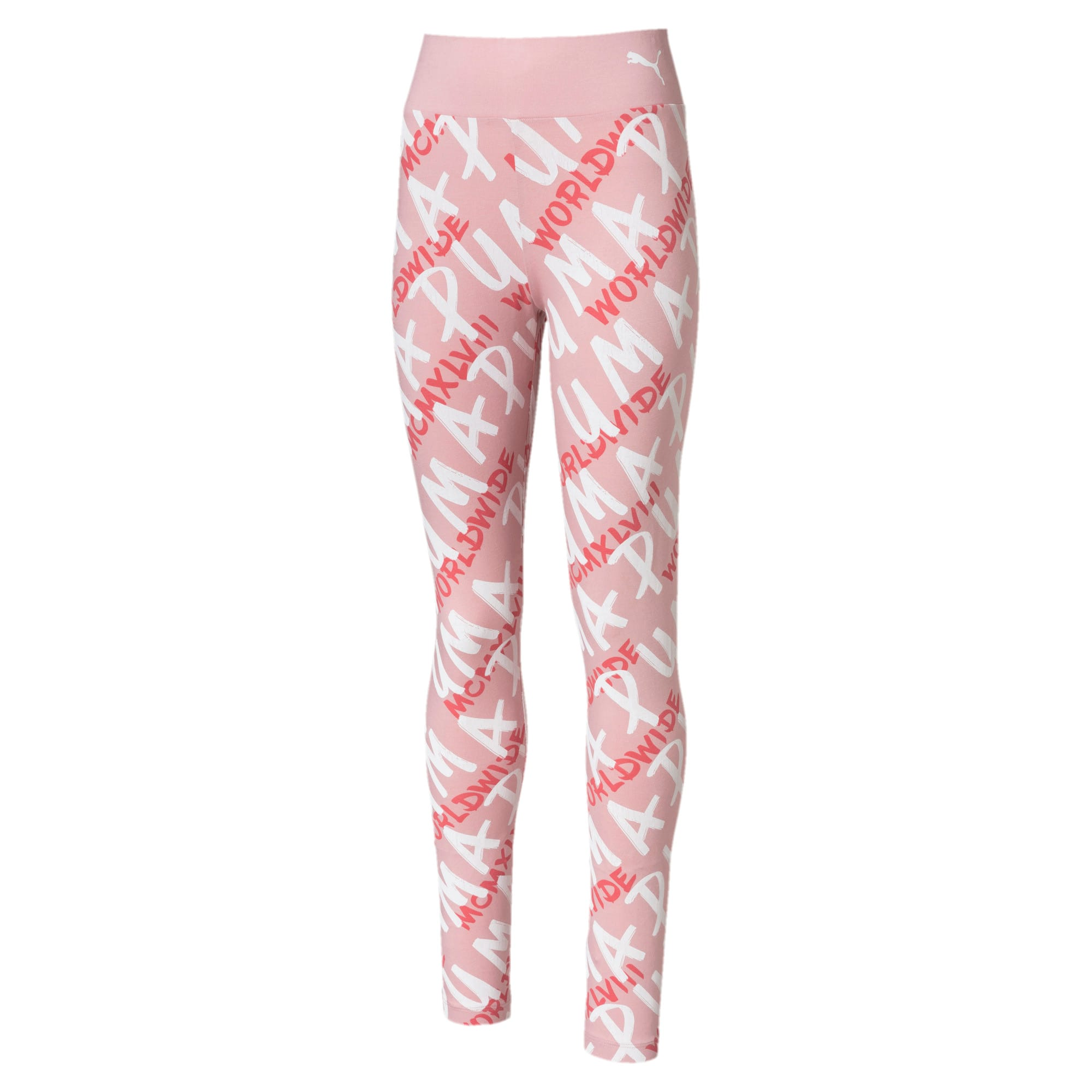 Thumbnail 1 of Alpha Girls' Leggings, Bridal Rose, medium-IND