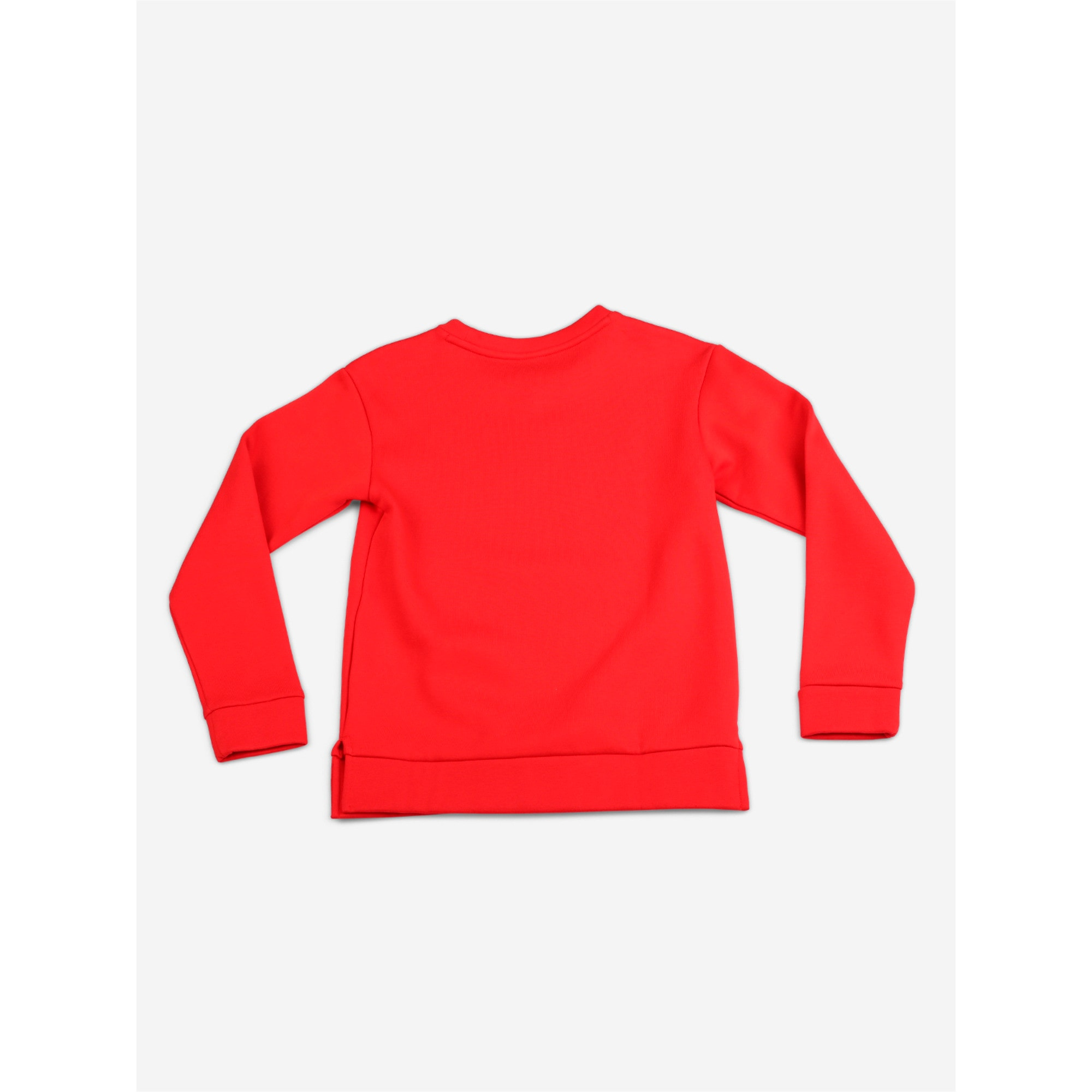 Thumbnail 2 of Boys' Alpha Graphic Crew, High Risk Red, medium-IND