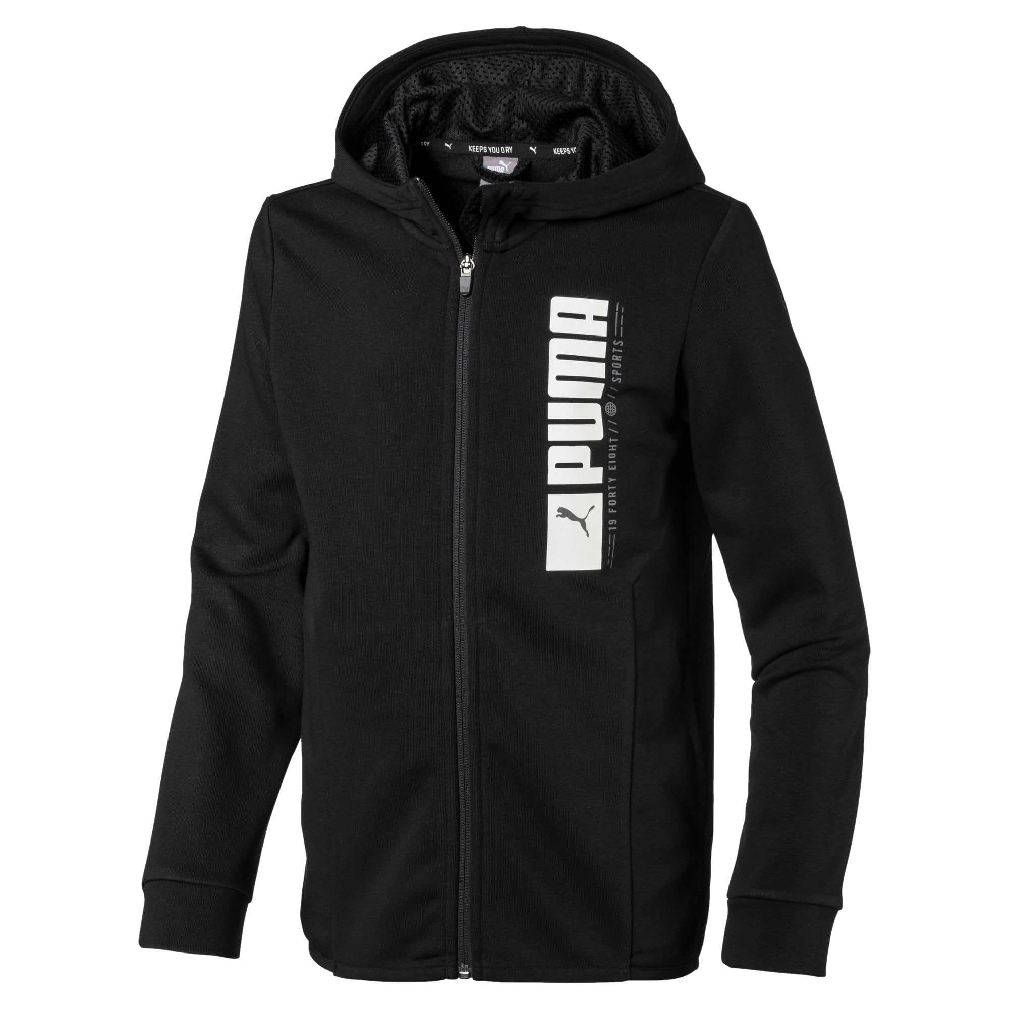 Thumbnail 1 of Active Sports Hooded Jacket, Puma Black, medium-IND