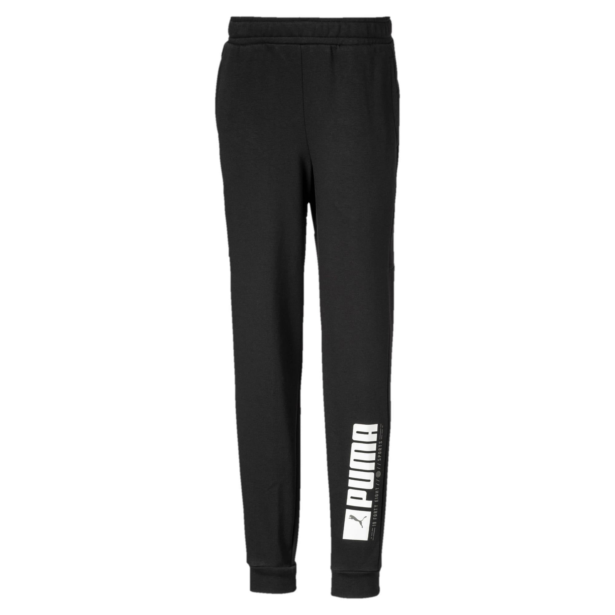 Thumbnail 1 of Active Sports Boys' Sweatpants, Puma Black, medium-IND