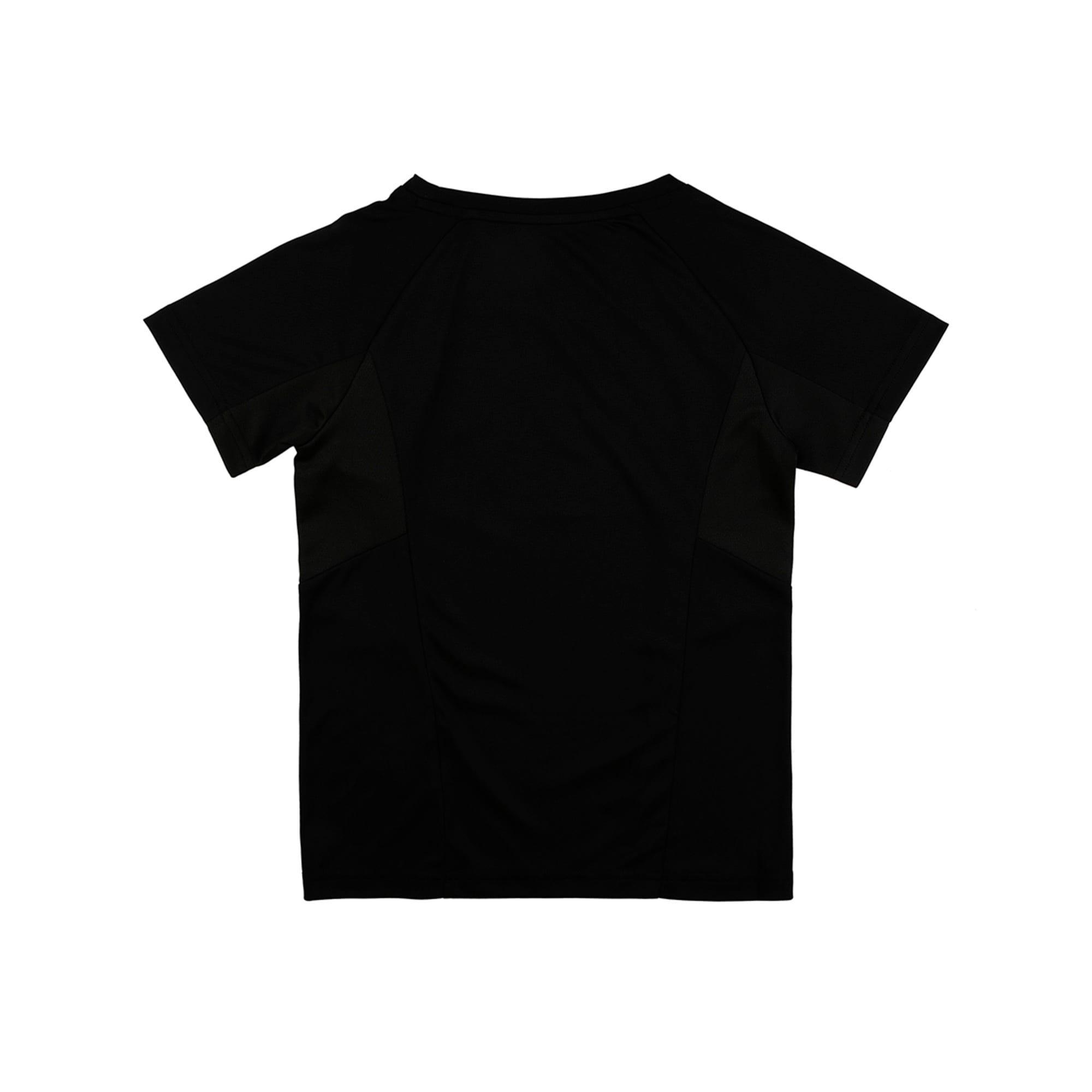Thumbnail 2 of Active Sports Short Sleeve Boys' Tee, Puma Black, medium-IND