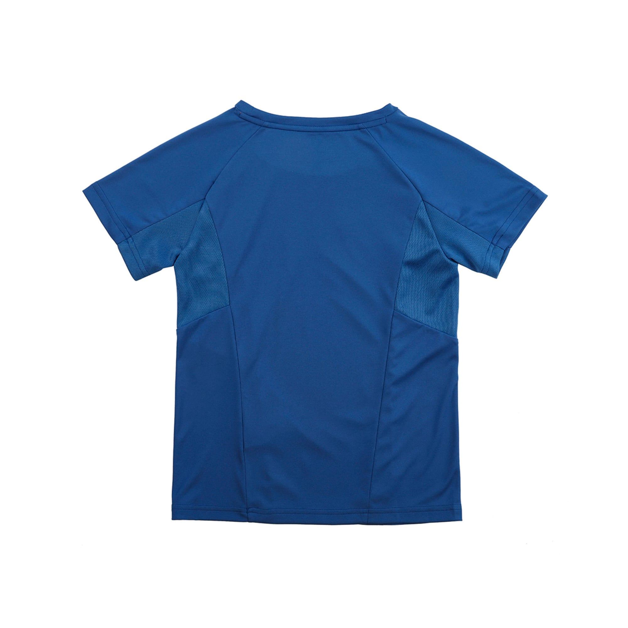 Thumbnail 2 of Active Sports Short Sleeve Boys' Tee, Galaxy Blue, medium-IND