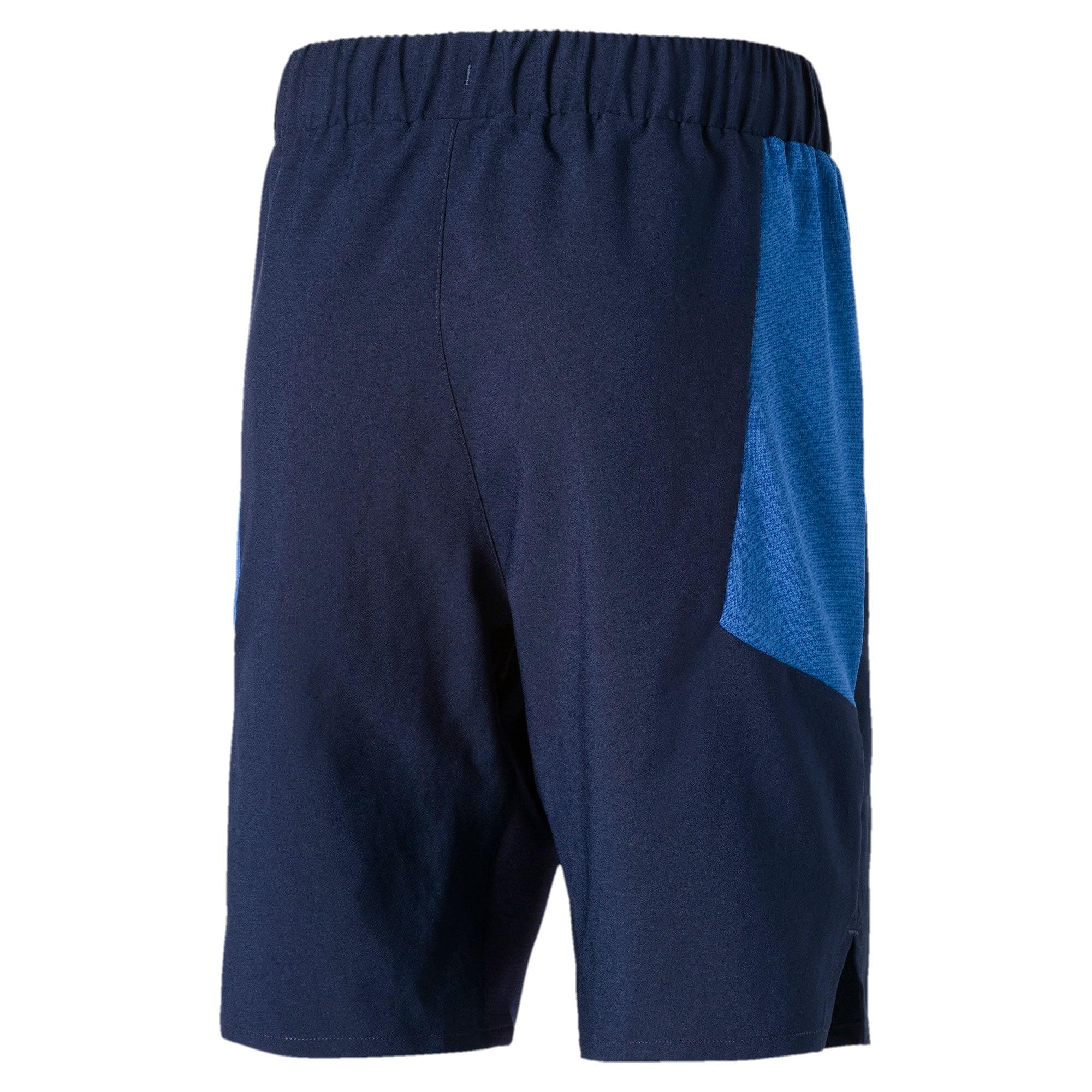 Thumbnail 2 of Active Woven Boys' Shorts, Peacoat, medium-IND