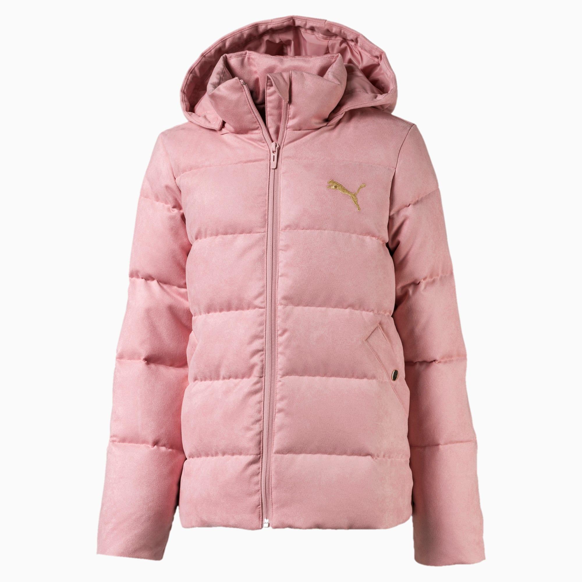 Velour Girls' Down Jacket