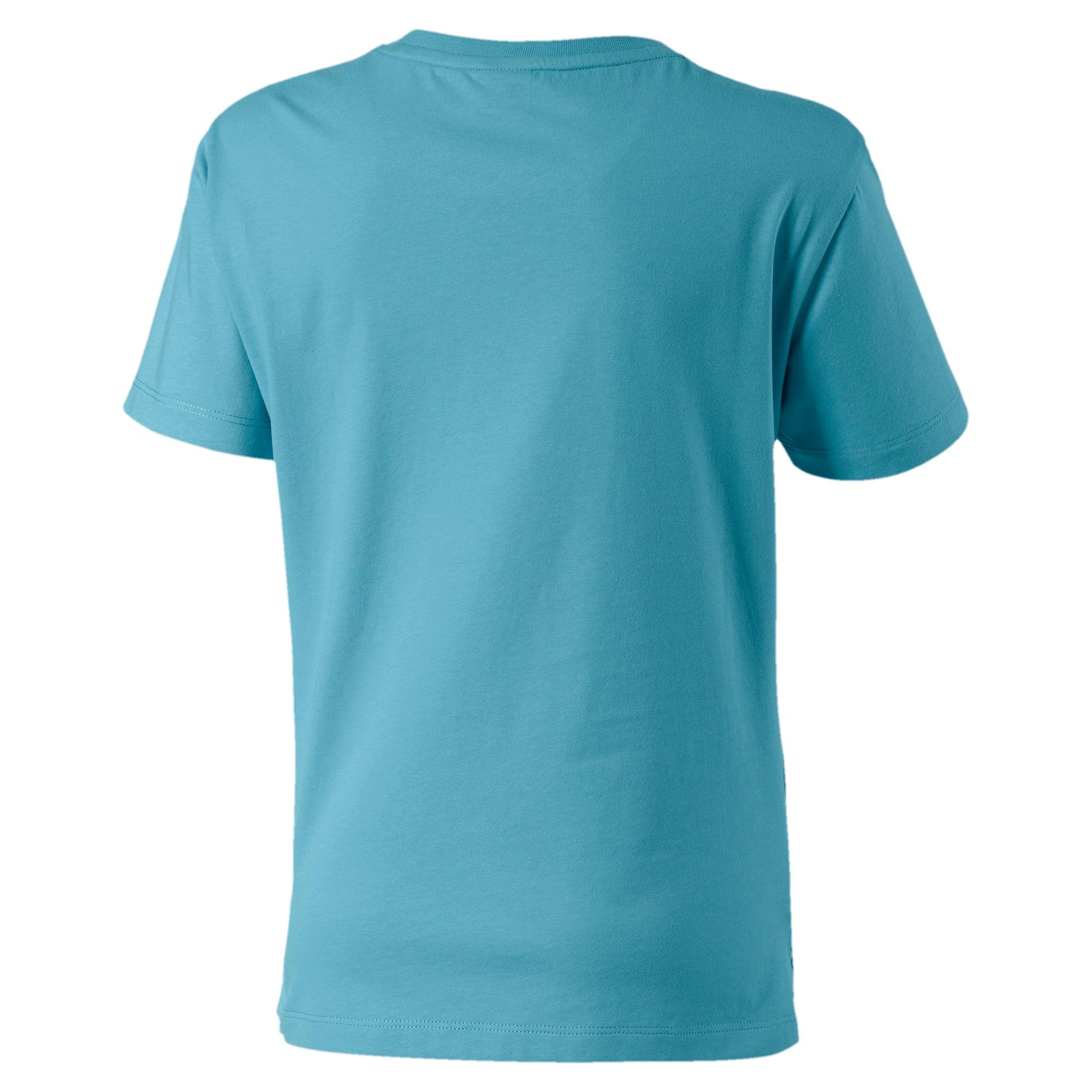 Thumbnail 2 van Classics T-shirt voor meisjes, Milky Blue, medium