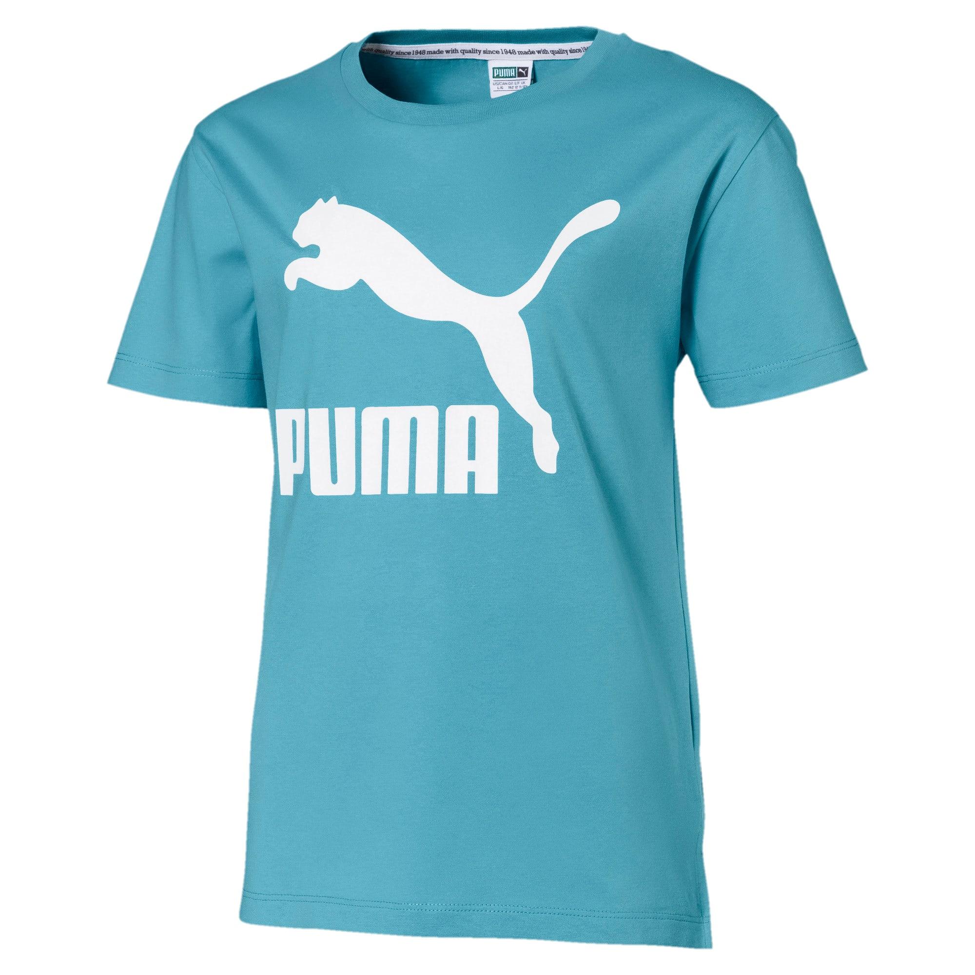 Thumbnail 1 van Classics T-shirt voor meisjes, Milky Blue, medium