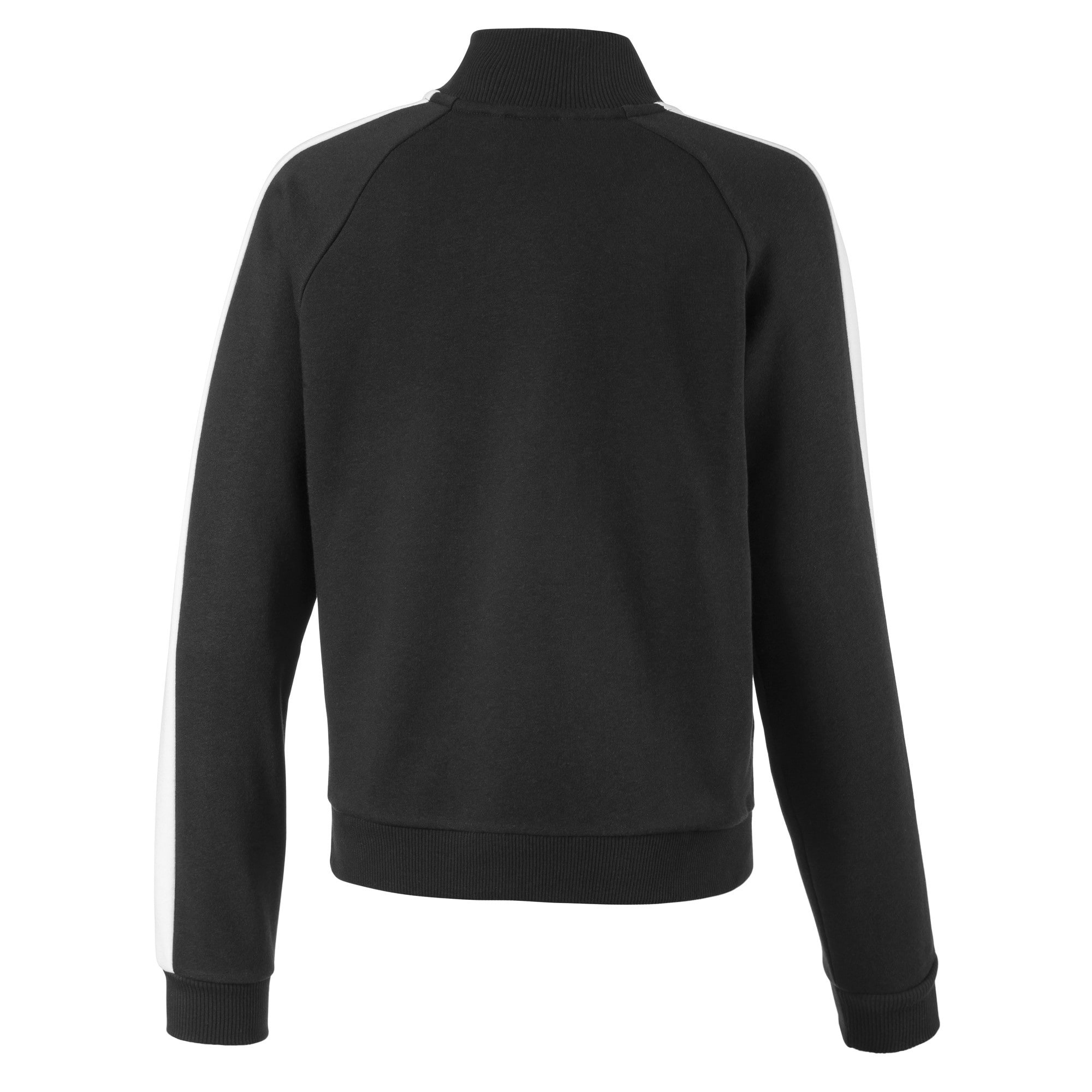 Thumbnail 2 of Classics T7 Girls' Sweat Jacket, Puma Black, medium