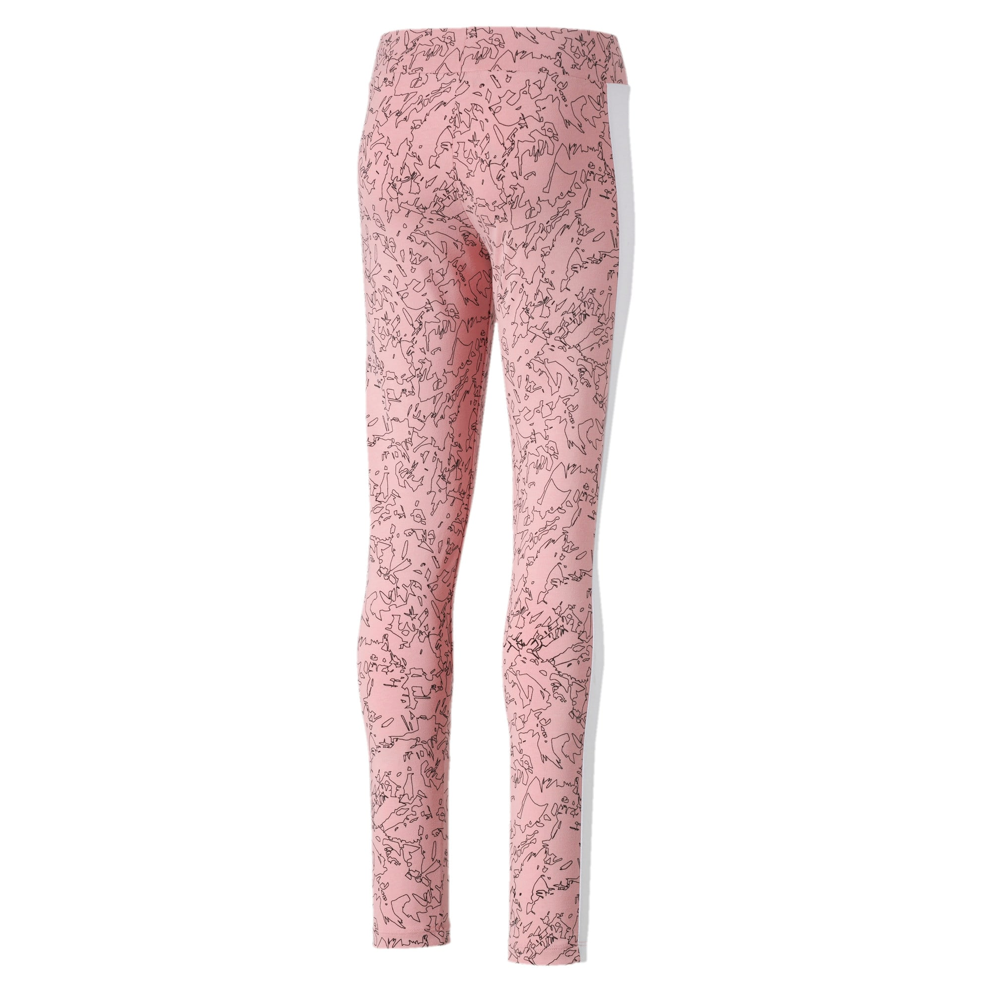 Thumbnail 2 of Classics Allover-Print Mädchen Leggings, Bridal Rose-AOP, medium