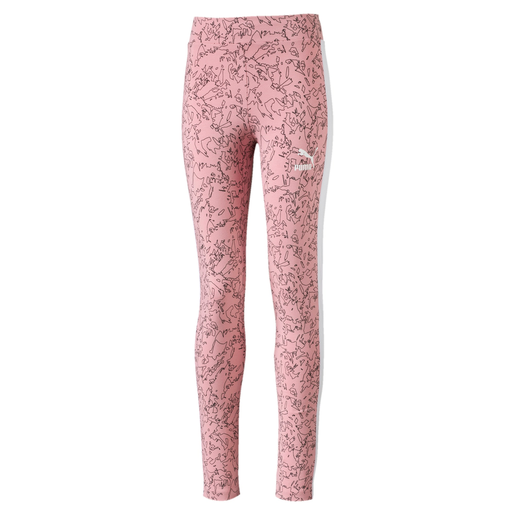 Thumbnail 1 of Classics Allover-Print Mädchen Leggings, Bridal Rose-AOP, medium