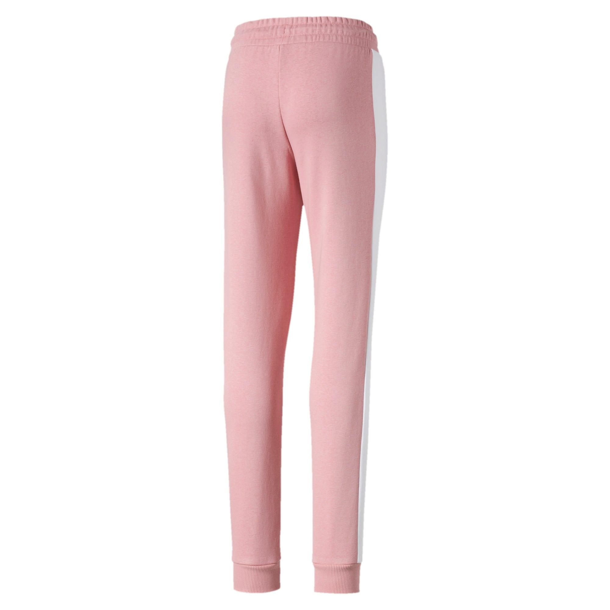 Thumbnail 2 of Classics T7 Knitted Girls' Sweatpants, Bridal Rose, medium-IND