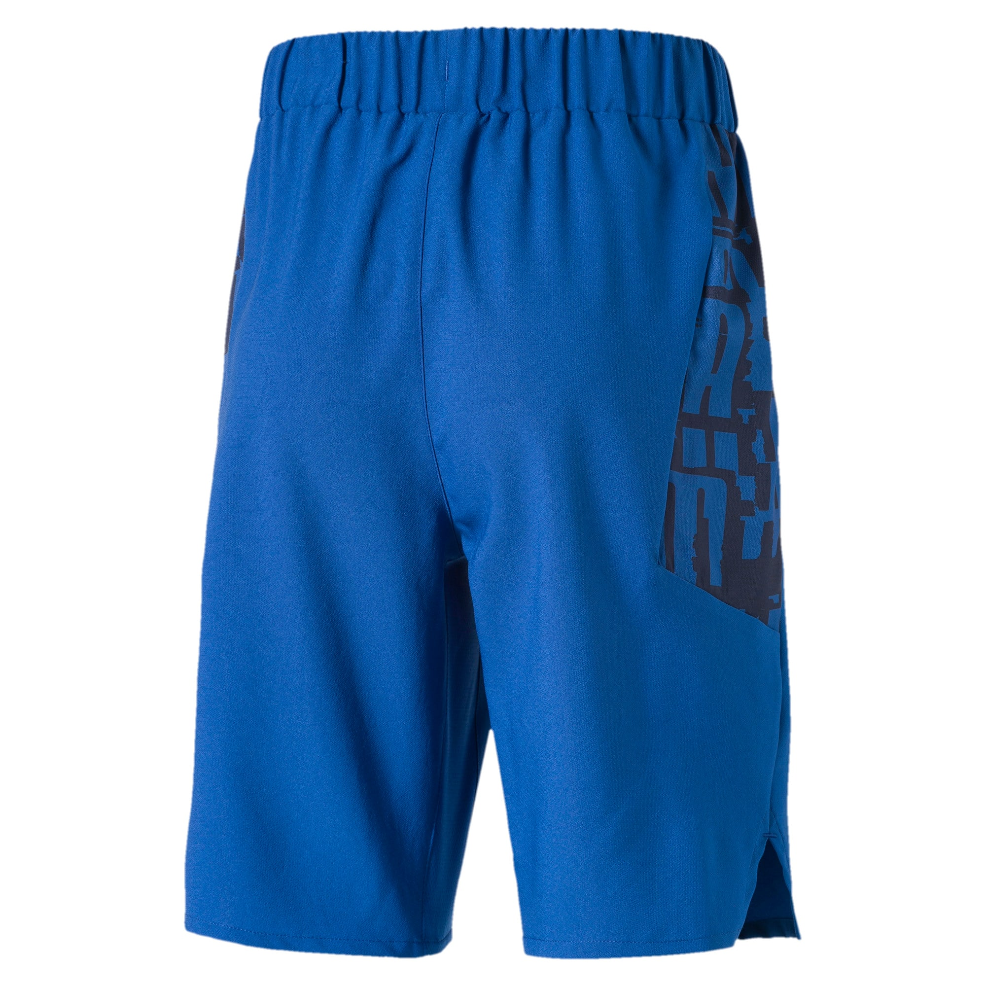 Active Sports Woven Boys' Shorts, Galaxy Blue, large-IND