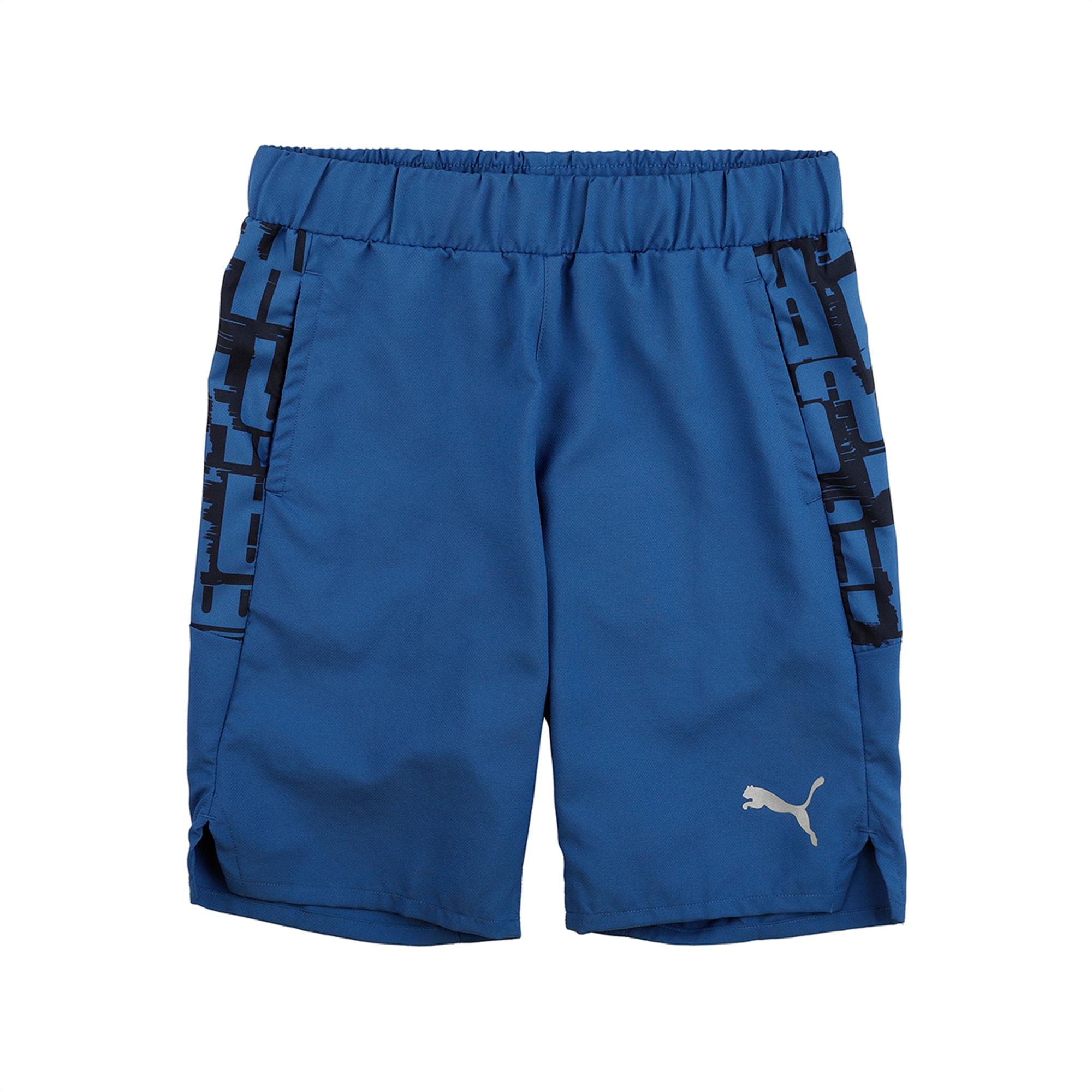 Active Sports Woven Boys' Shorts | Galaxy Blue | PUMA Shoes | PUMA