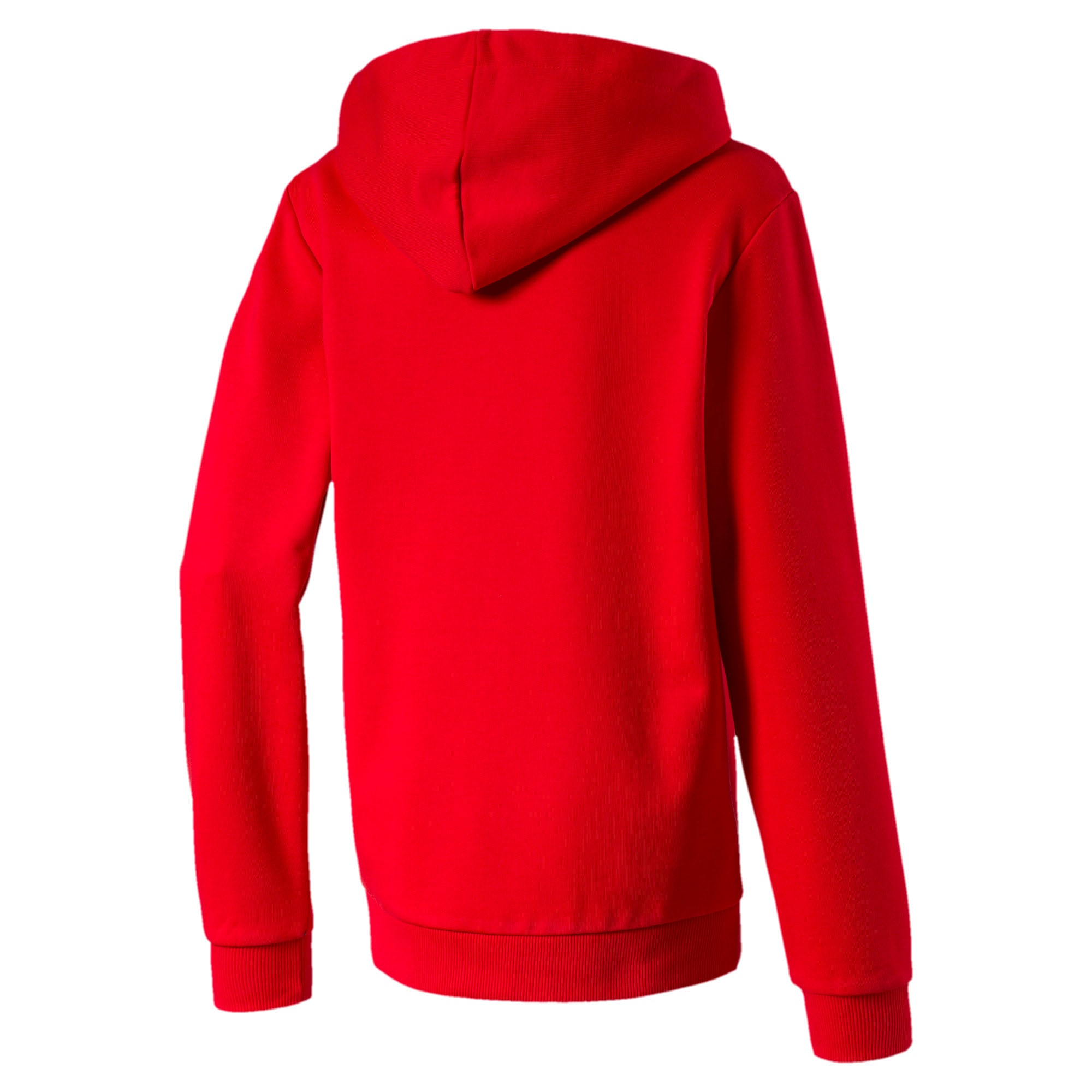 Thumbnail 2 of Classics Boys' Hoodie, High Risk Red, medium-IND
