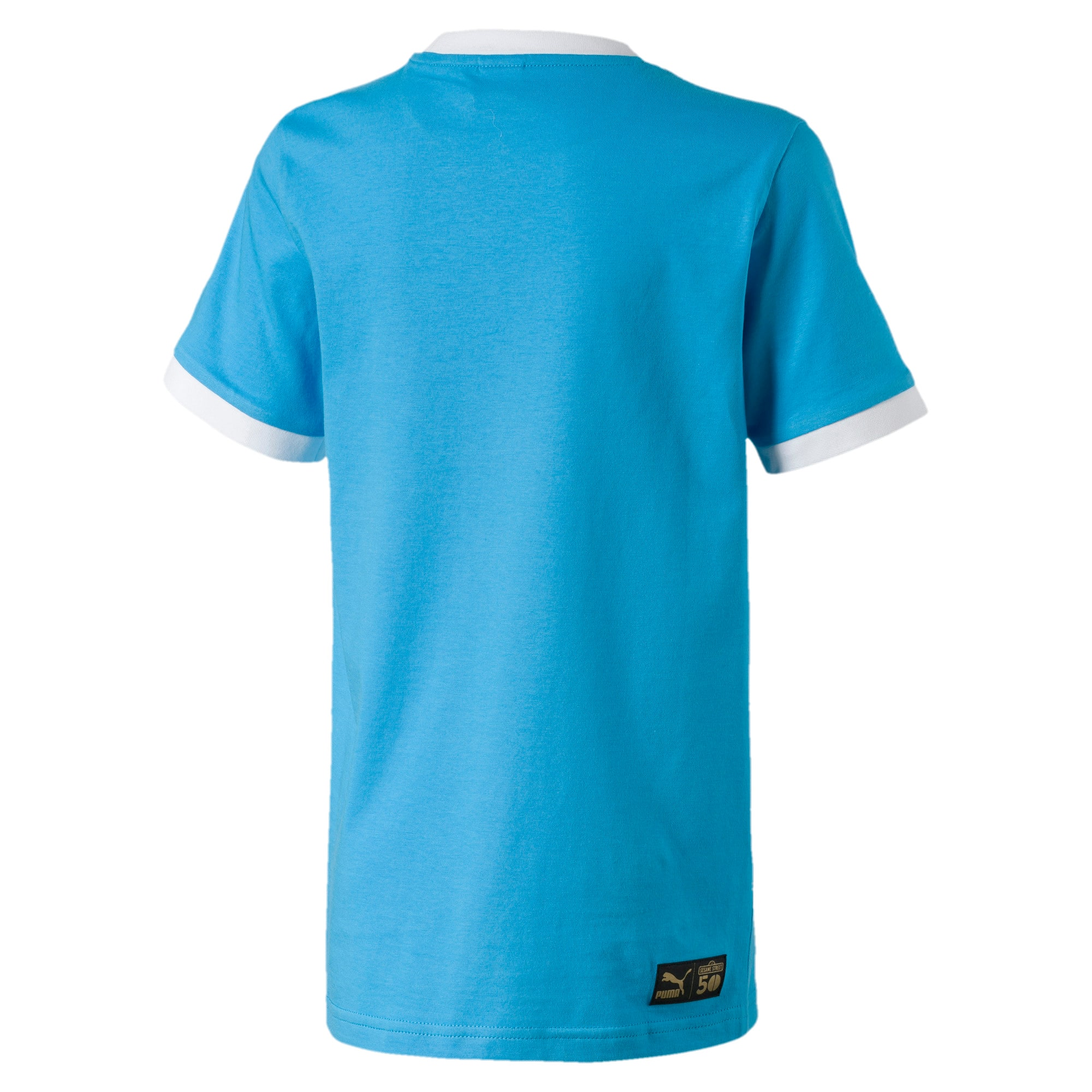 Thumbnail 3 of キッズ セサミストリート SS グラフィック Tシャツ (半袖), Bleu Azur, medium-JPN