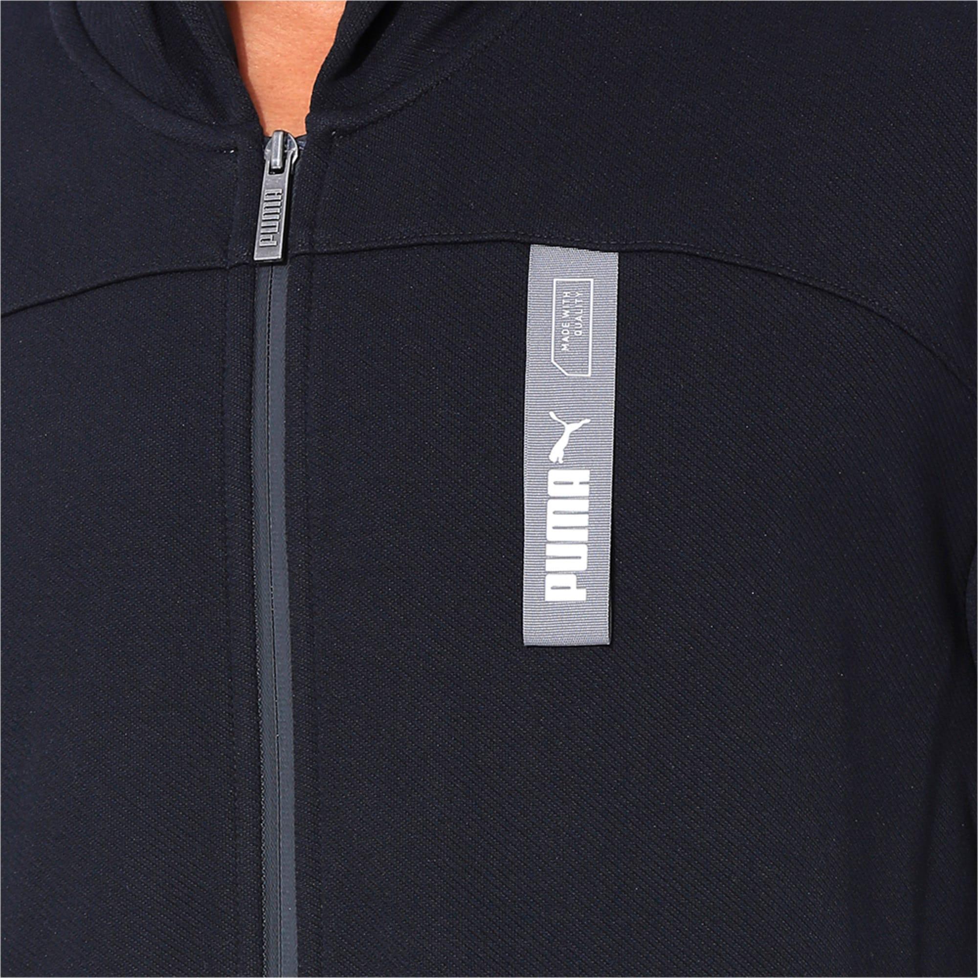 Thumbnail 6 of NU-TILITY Full Zip Men's Hoodie, Puma Black, medium-IND