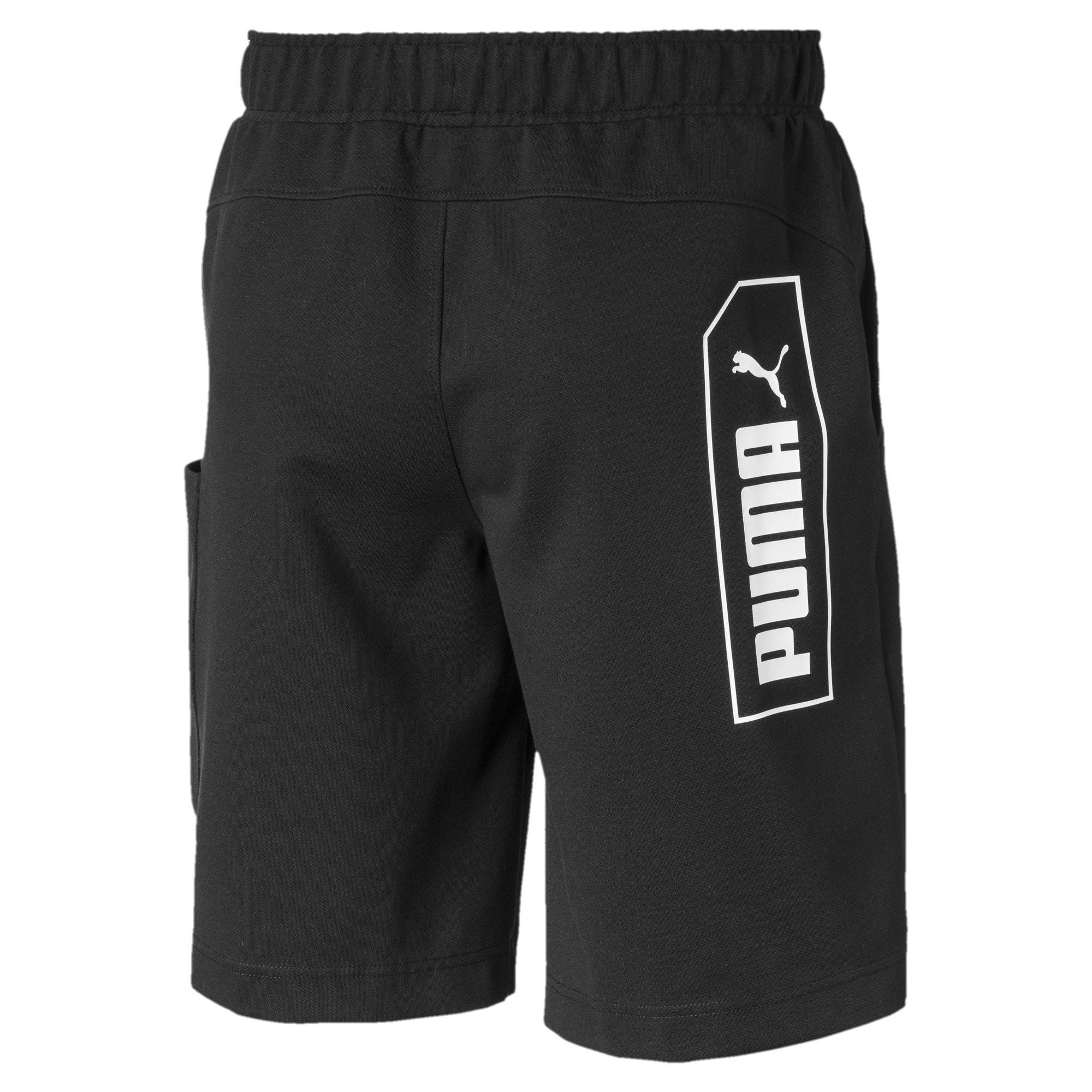 Thumbnail 5 of NU-TILITY Men's Shorts, Puma Black, medium-IND
